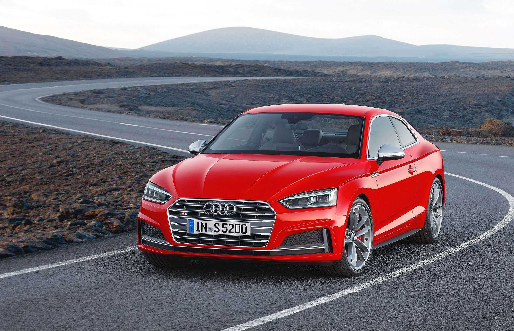 AUDIThe 2017 Audi S5, similar in appearance to its predecessor, has a three-litre, turbocharged V-6 engine with 354 horsepower.