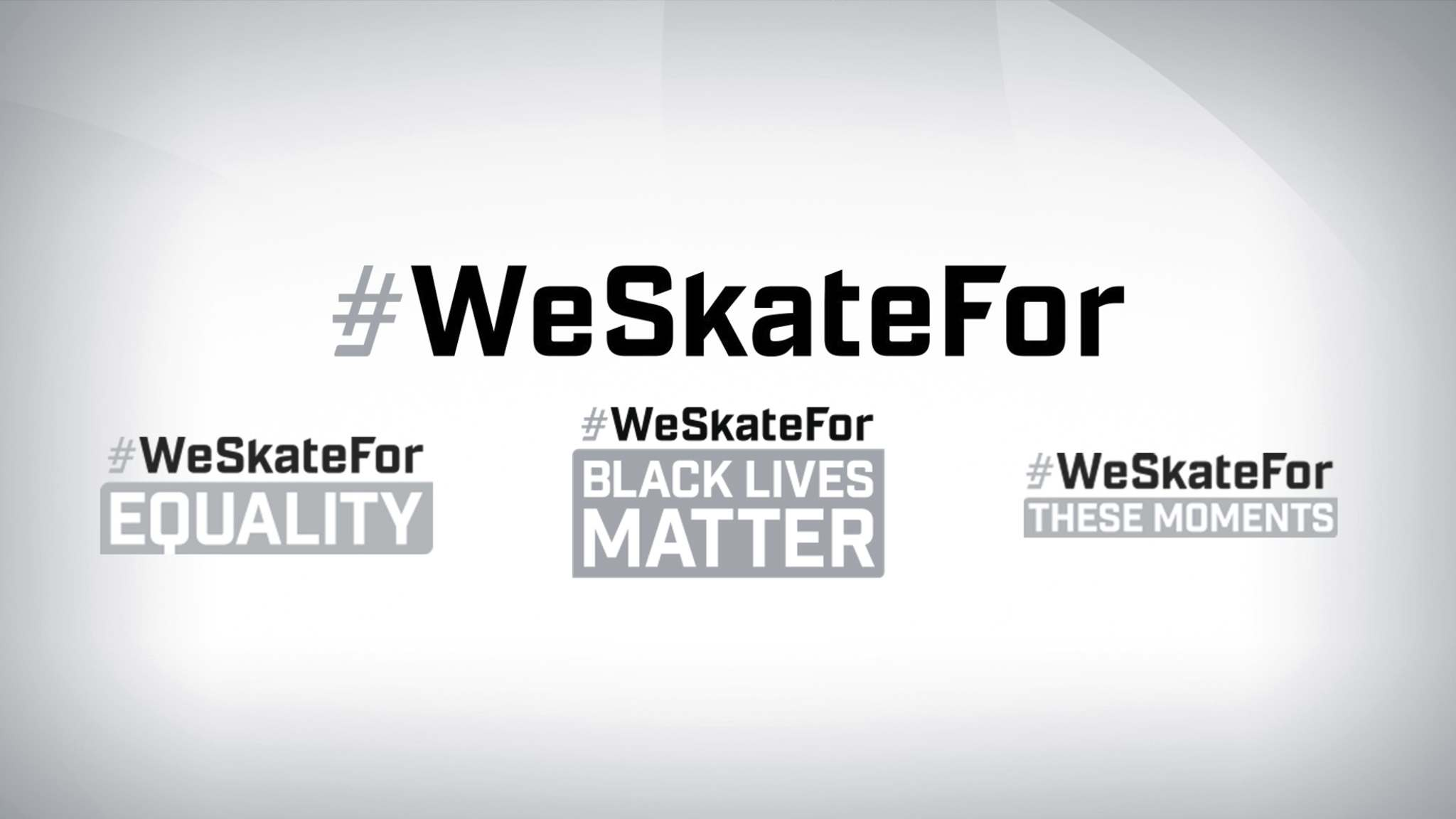 """Every NHL player will be wearing a customized helmet and uniform decal bearing hashtags of """"#ISkateFor"""" or """"#WeSkateFor."""""""