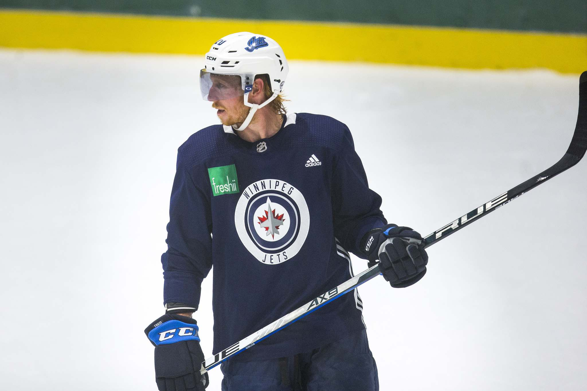 Cody Eakin was added to the fold near the NHL's trade deadline, brought in to help boost Winnipeg's centre position.