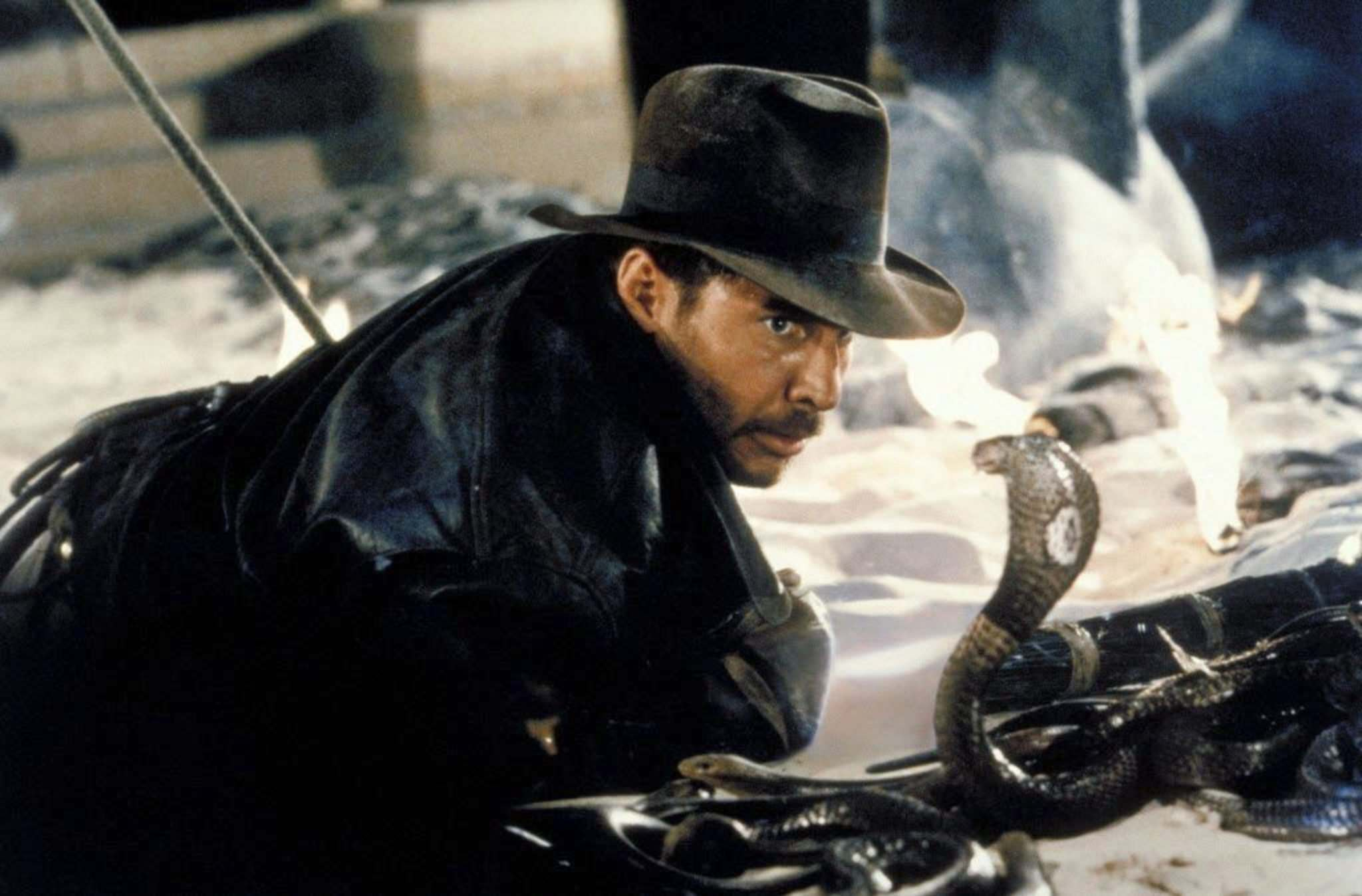 In Raiders of the Lost Ark, playing at Grant Park, Steven Spielberg shows off his flair for action; sequences in this 1981 Indiana Jones film stand the test of time.</p>