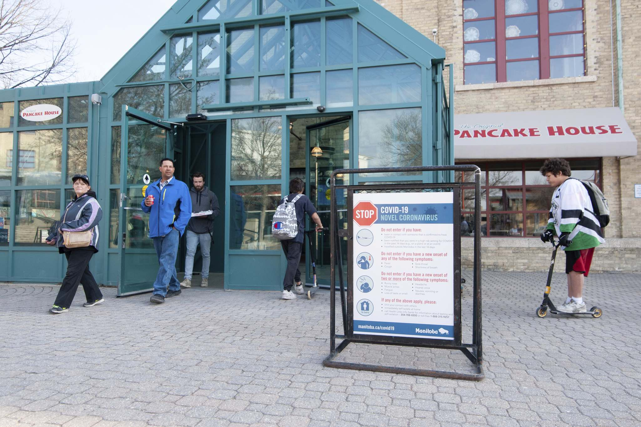 """Paul Jordan, CEO of The Forks Renewal Corp., said, """"When we re-opened the market we had to do twice as much cleaning when we had zero revenues. It really helped us get over the hump. It gave us the cushion to get back up and running."""" (Mike Sudoma / Free Press files)"""