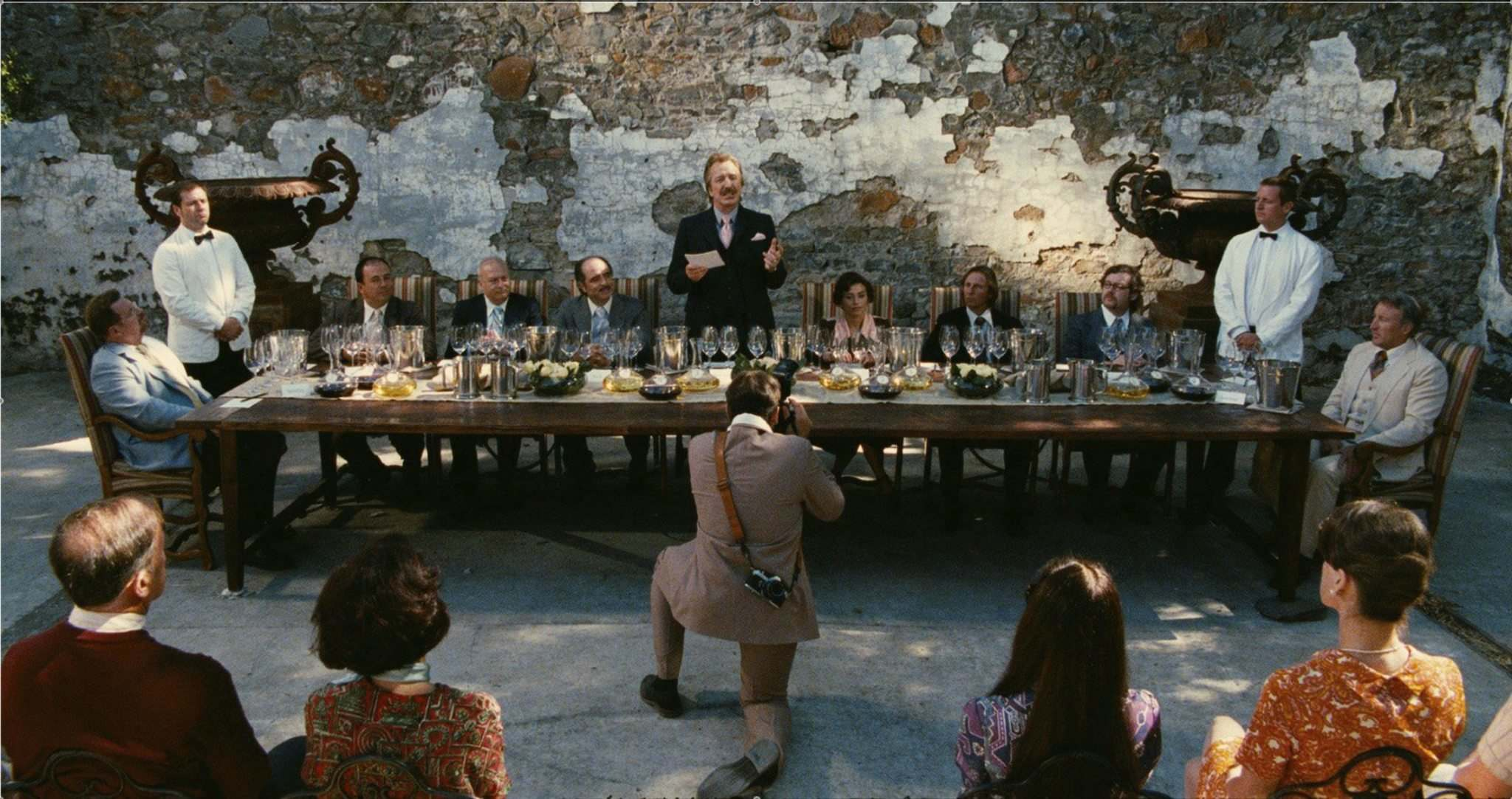 ALLIANCE FILMS</p><p>Alan Rickman (centre, standing) in a scene from the 2008 film Bottle Shock, which dramatized California&#39;s emergence on the global wine scene. Canadian vintners are trying to emulate the California success story.</p>