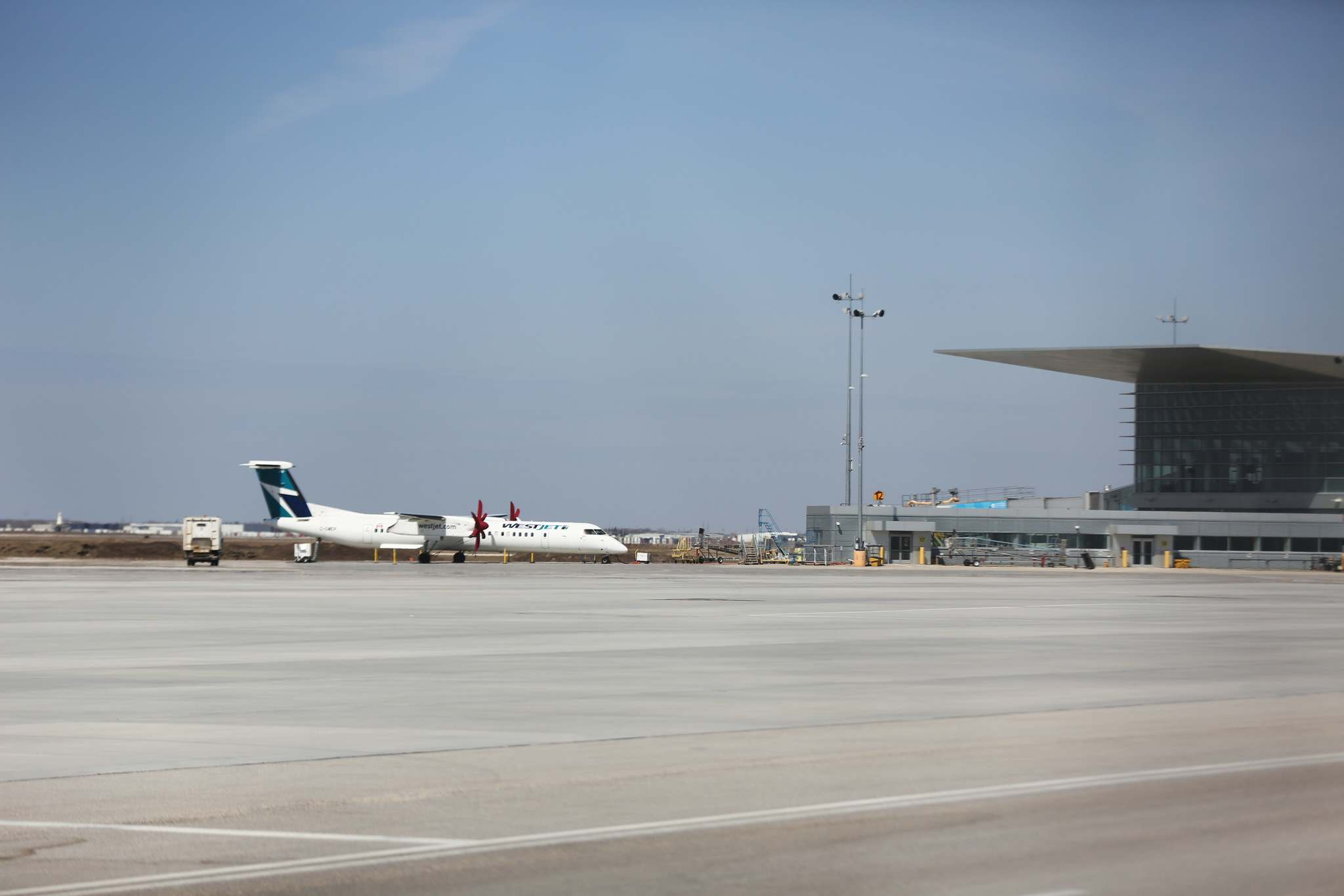 Richardson International is Canada's seventh busiest airport by passenger count, the country's top dedicated freighter airport by number of flights and third highest in daily air cargo tonnage. The air cargo business is now one of the strategic elements of the city's economic development strategy. (Mike Deal / Winnipeg Free Press files)