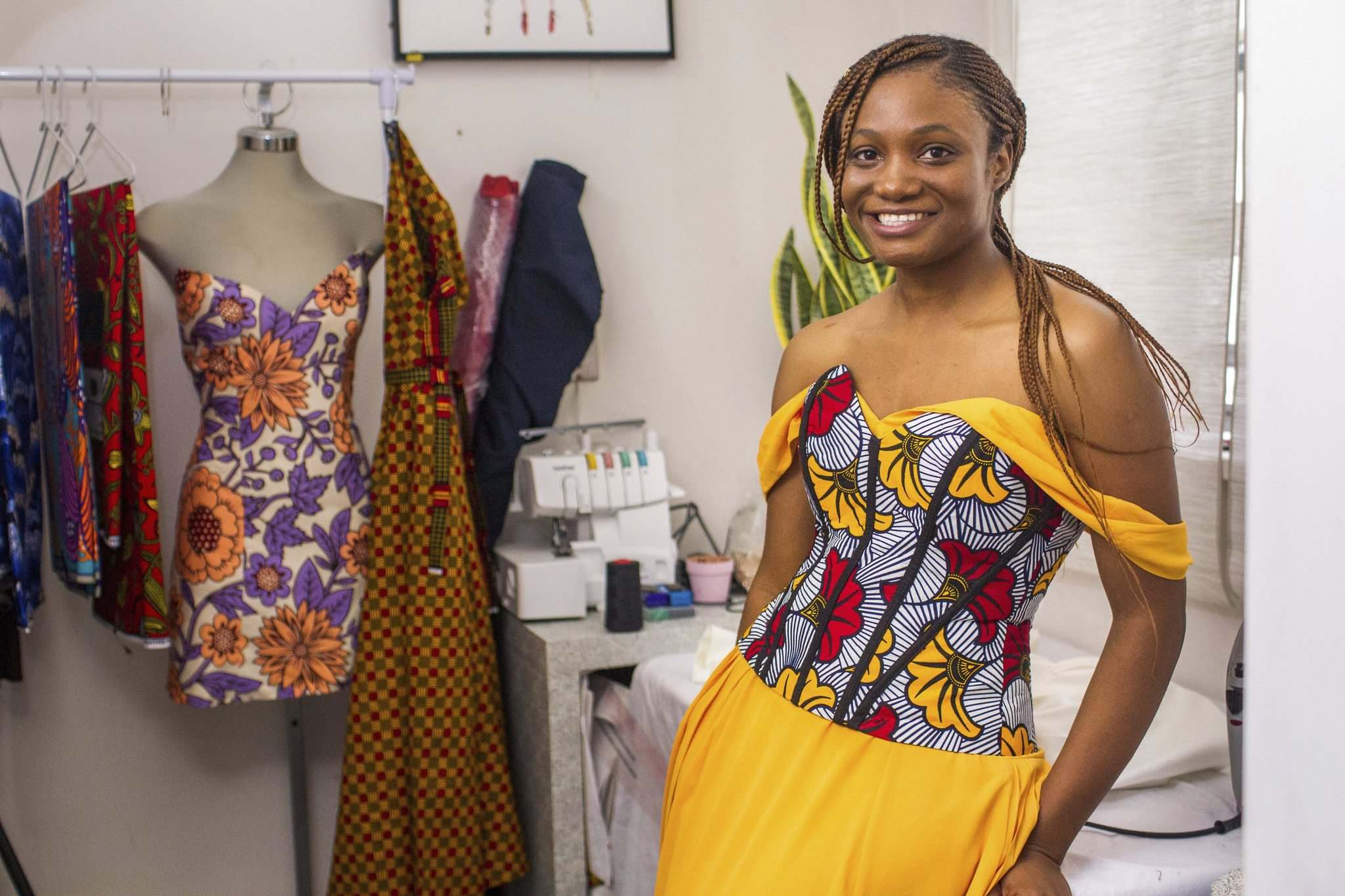 Dress Designer Hopes To Take Her Nigerian Inspired Designs Global Winnipeg Free Press