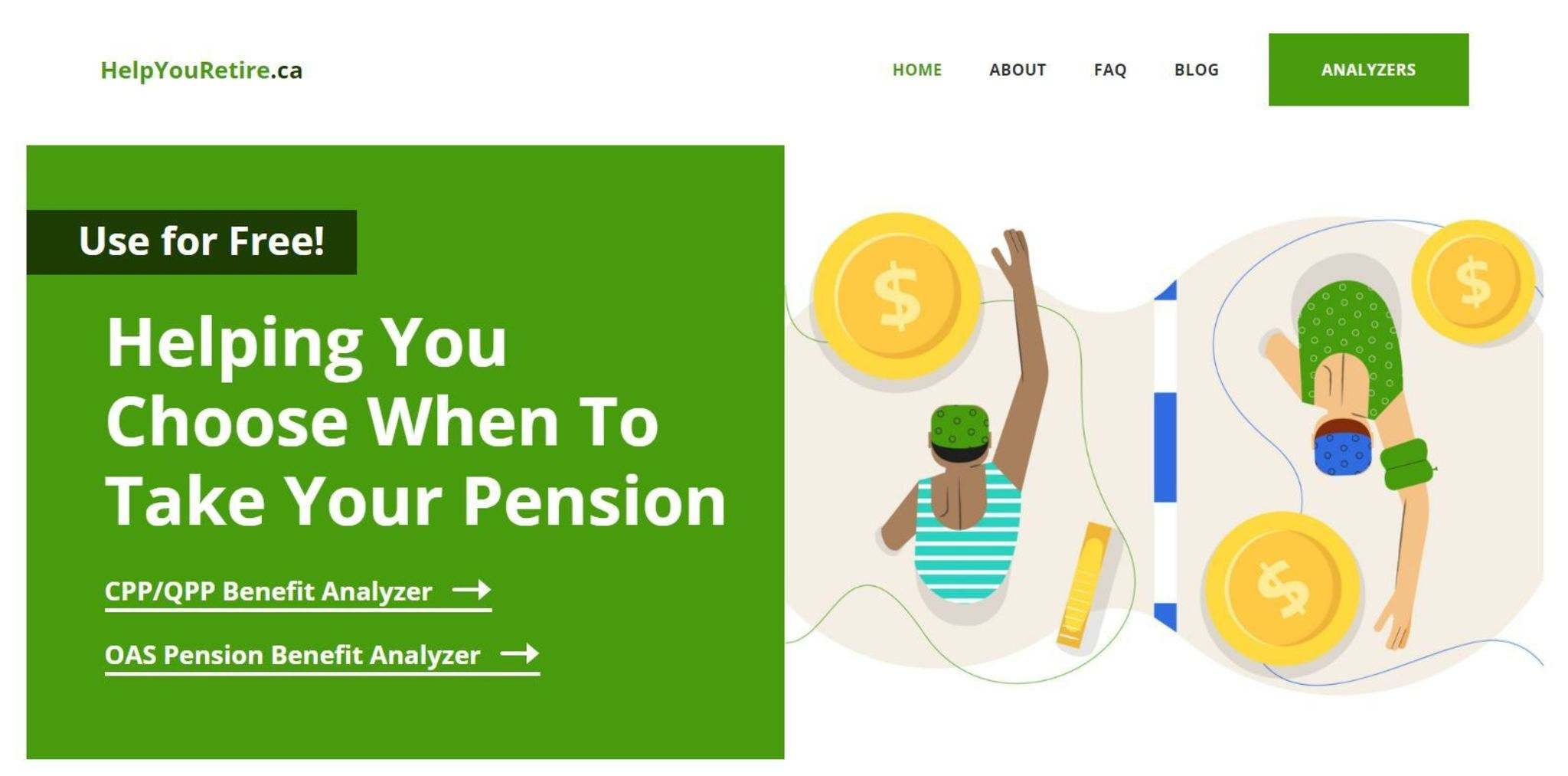 The site will give users a basic dollar figure that could be gained in delaying receiving benefits for a year for each year up to age 70 at no cost.