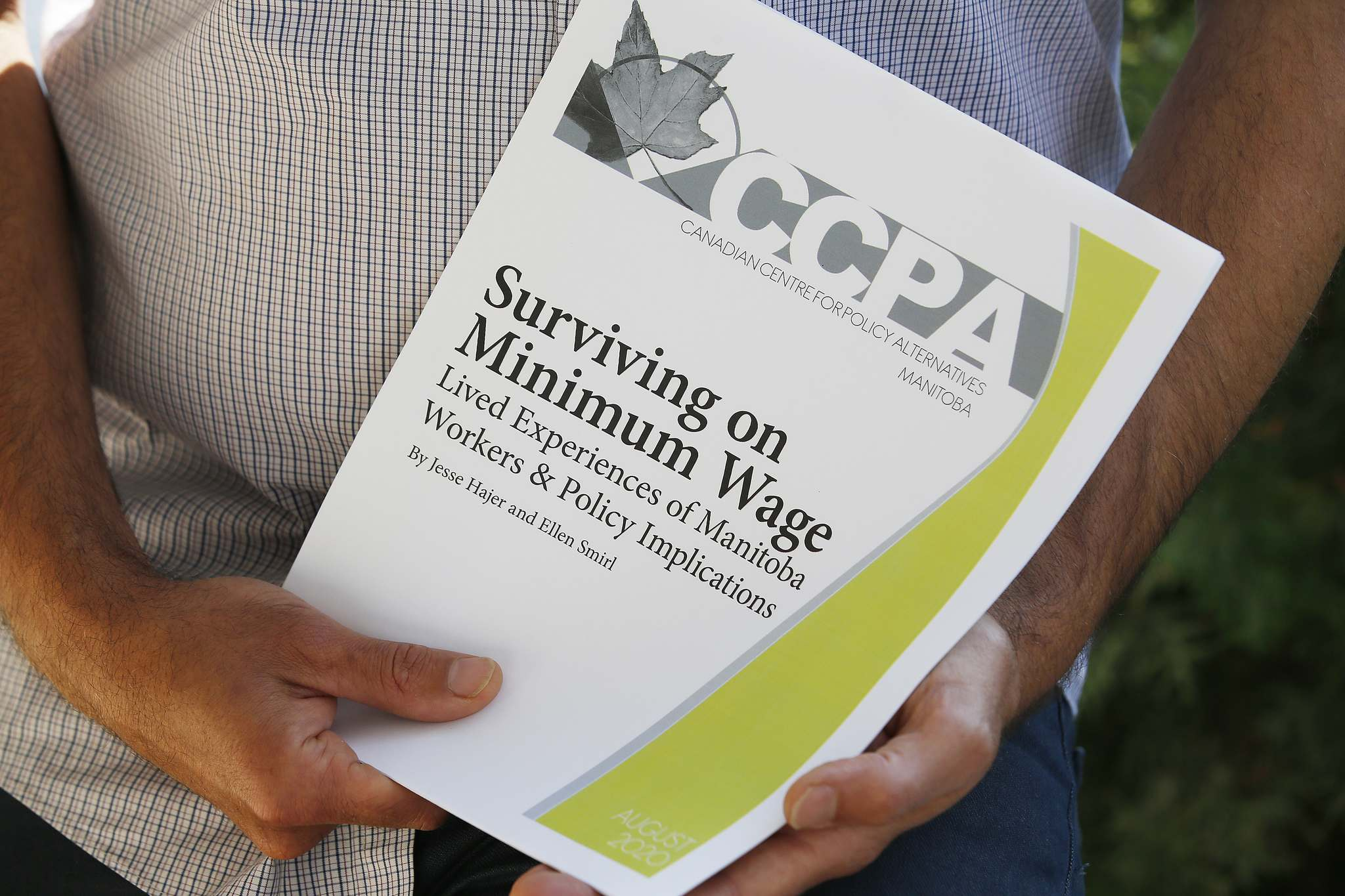 JOHN WOODS / WINNIPEG FREE PRESS</p><p>Manitoba's minimum wage is second lowest in the country.</p>