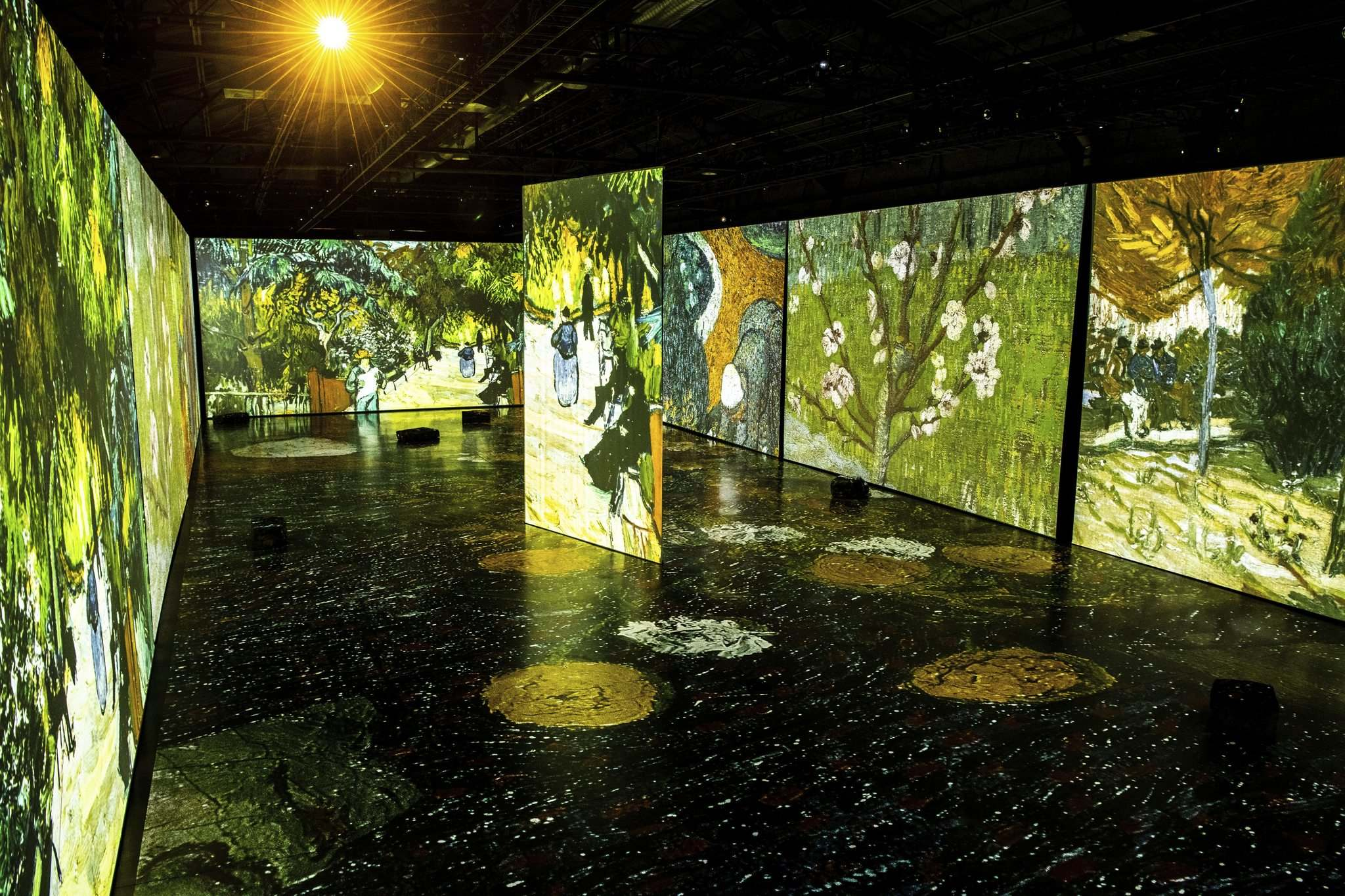 SUPPLIED</p><p>Imagine Van Gogh showcases the artwork of Vincent Van Gogh in a grandiose experience of art, projection and music.</p></p>