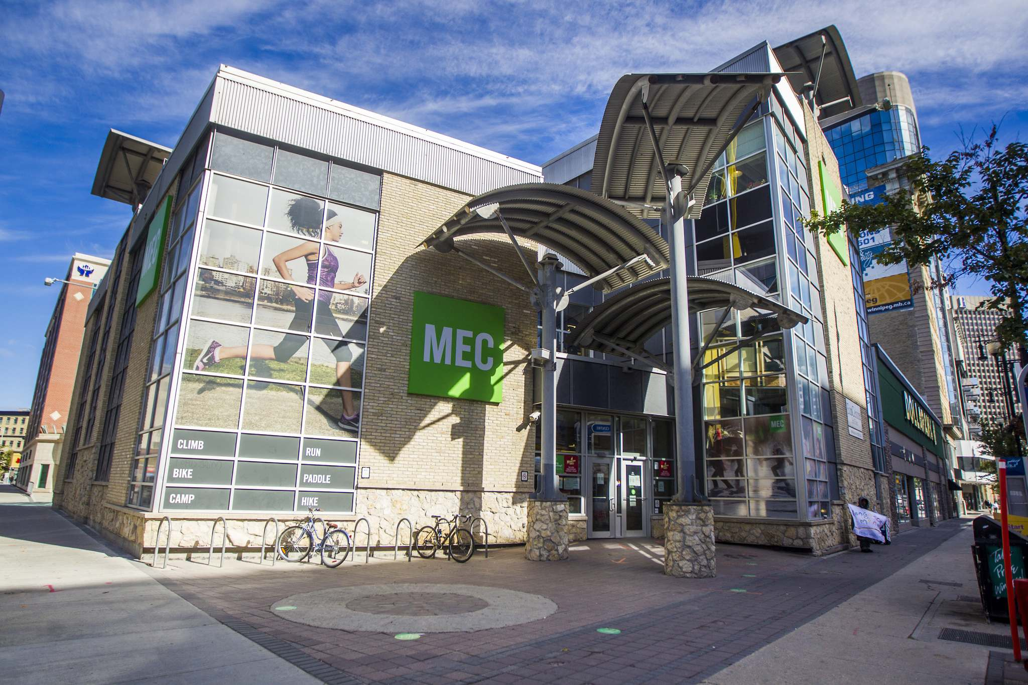 Los Angeles-based private investment firm Kingswood Capital Management will acquire MEC's assets, including the majority of its retail stores. (Mikaela MacKenzie / Winnipeg Free Press)