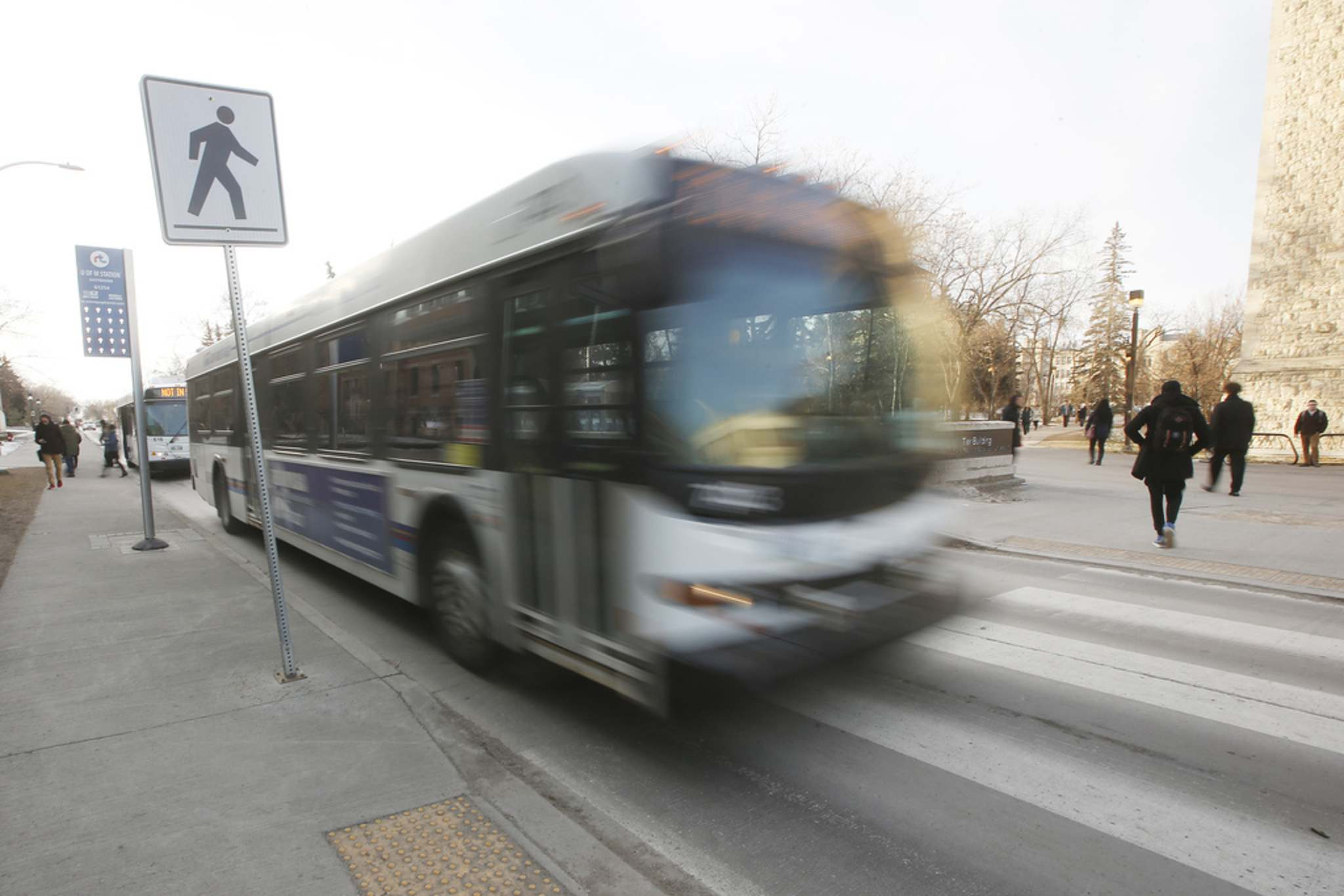 JOHN WOODS / WINNIPEG FREE PRESS FILES</p><p>The Pallister government has agreed to spend $33 million on transit across the province which will be matched by federal funding meaning municipalities in Manitoba will share $66 million for transit.</p>