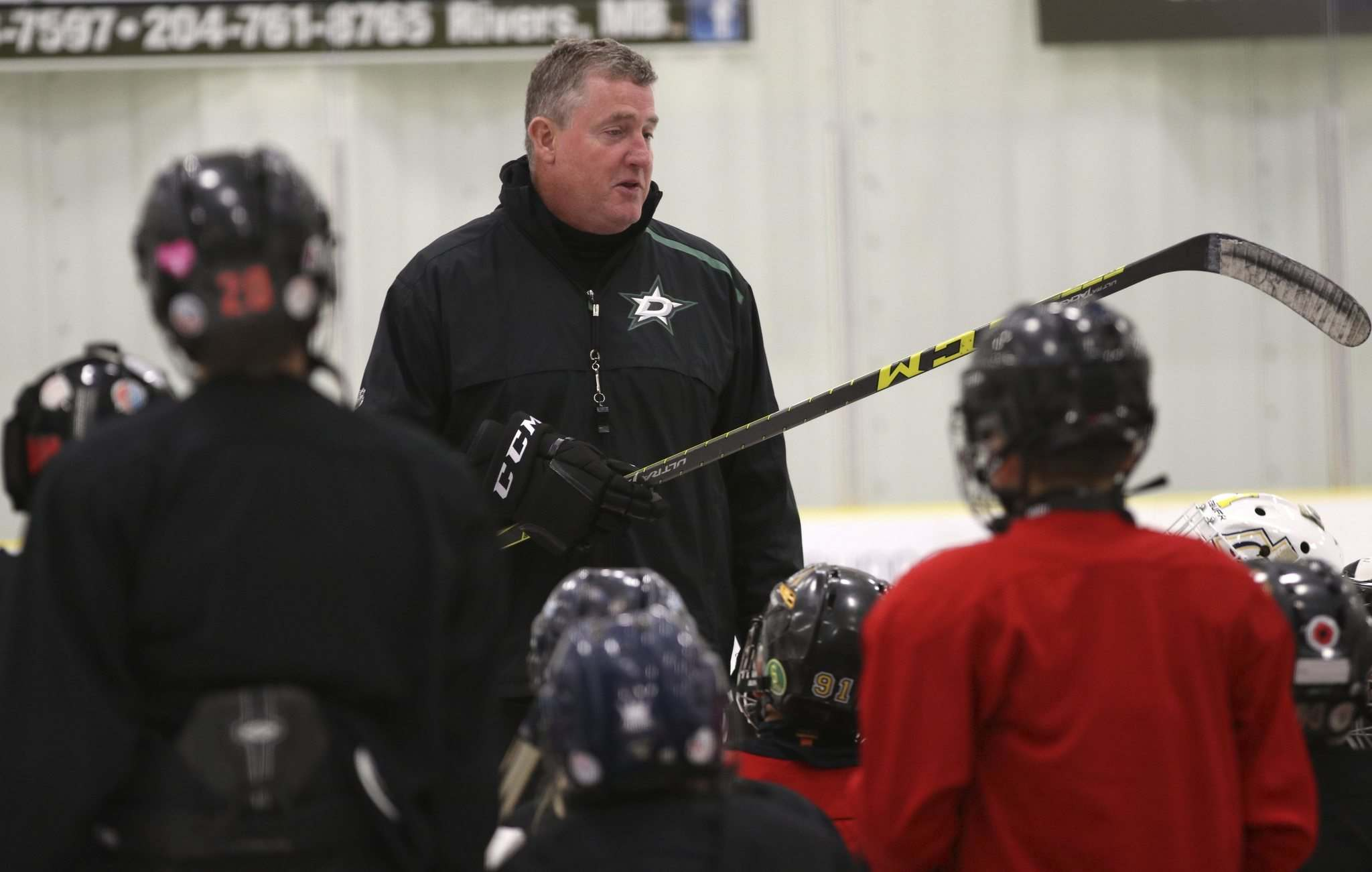 Laxdal runs a hockey school in Rivers every summer, including in 2019.