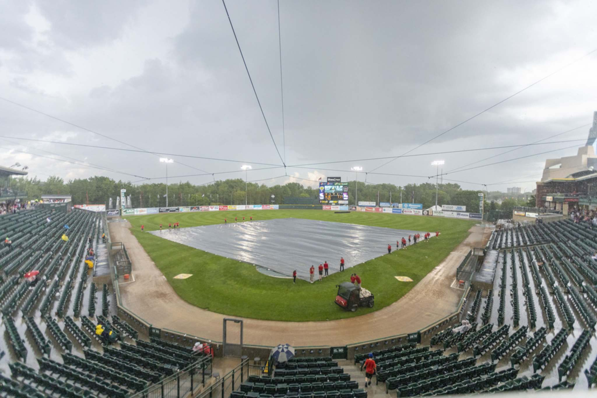 SASHA SEFTER / WINNIPEG FREE PRESS FILES</p><p>The city is considering a new proposal that would replace the Goldeyes' current $1-per-year lease of Shaw Park and charge the team an annual rent of between $75,000 and $95,000 per season over the next 15 years.</p>