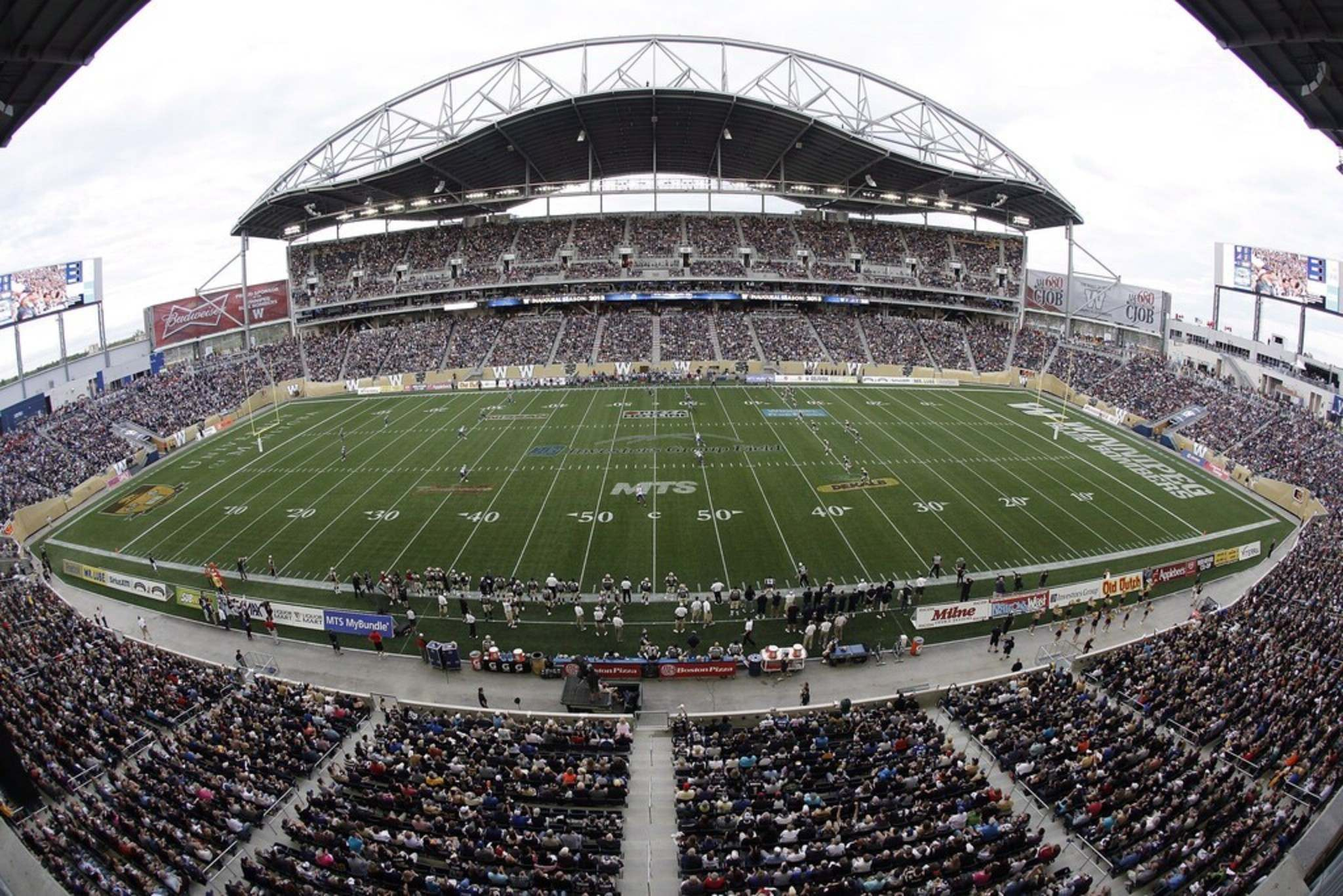 THE CANADIAN PRESS/John Woods</p><p>The City of Winnipeg's Executive Policy Committee ordered a review of their agreements with the Winnipeg Football Club and Triple B Stadium Inc., including what it would take to end them.</p>
