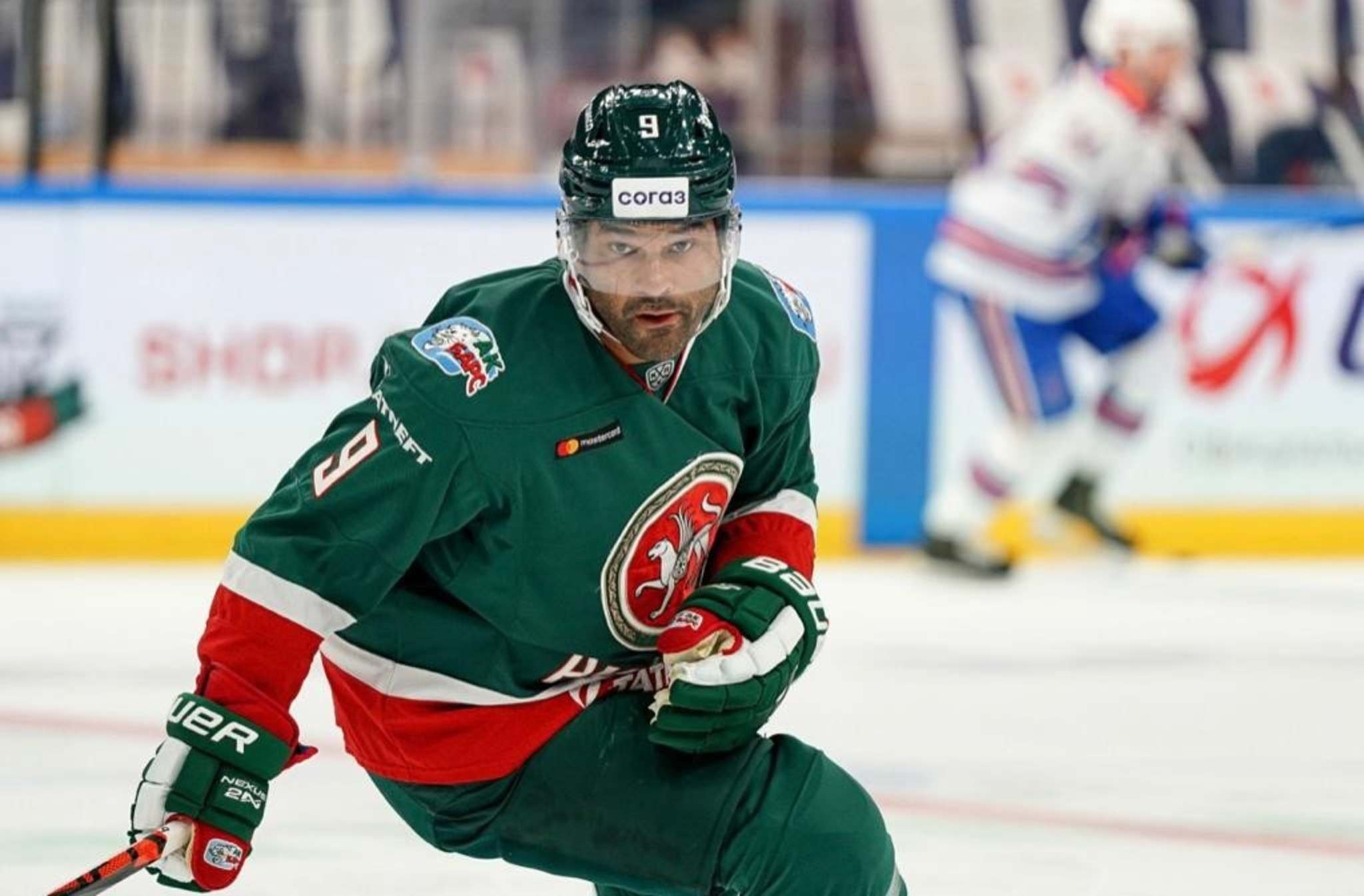 Dawes has five goals and two assists while helping the team to a 9-4 record to start the season. (Ak Bars Kazan photo)