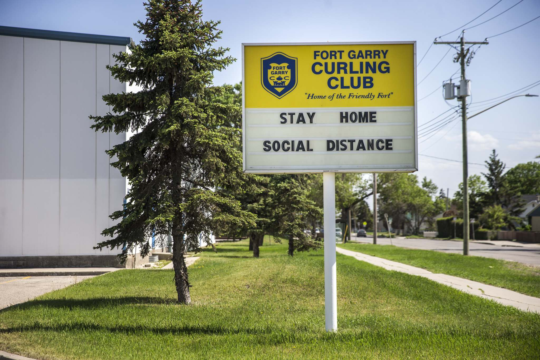 """When we were about to shut down in the spring, nobody knew — should we shut down or should we not shut down? What are we doing?"" said JasonShymanski, who also serves as secretary of the Fort Garry Curling Club."