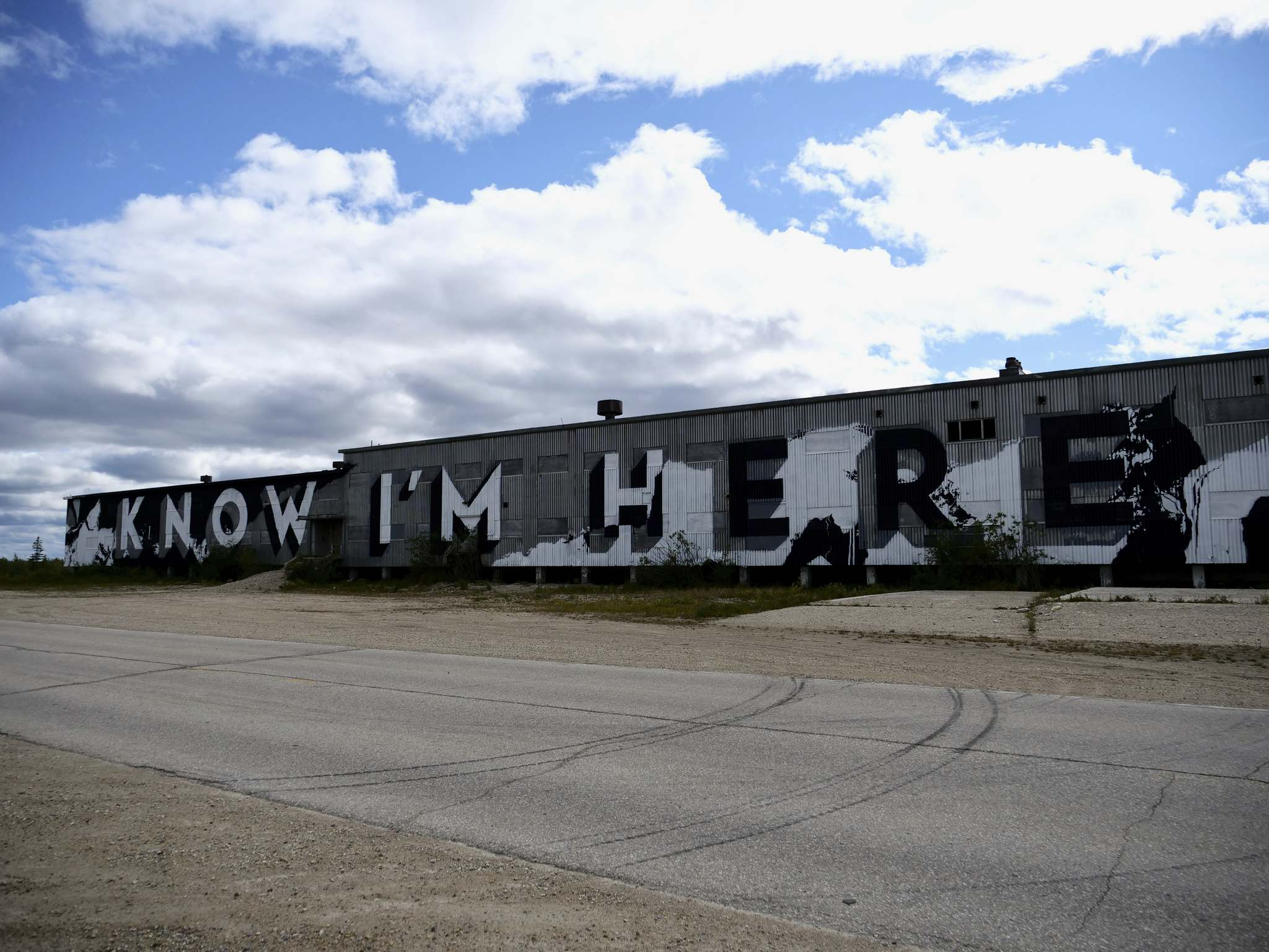 SARAH LAWRYNUIK / WINNIPEG FREE PRESS</p><p>The 'Know I'm Here' mural takes on greater urgency as climate change's impact is felt in the North.</p>