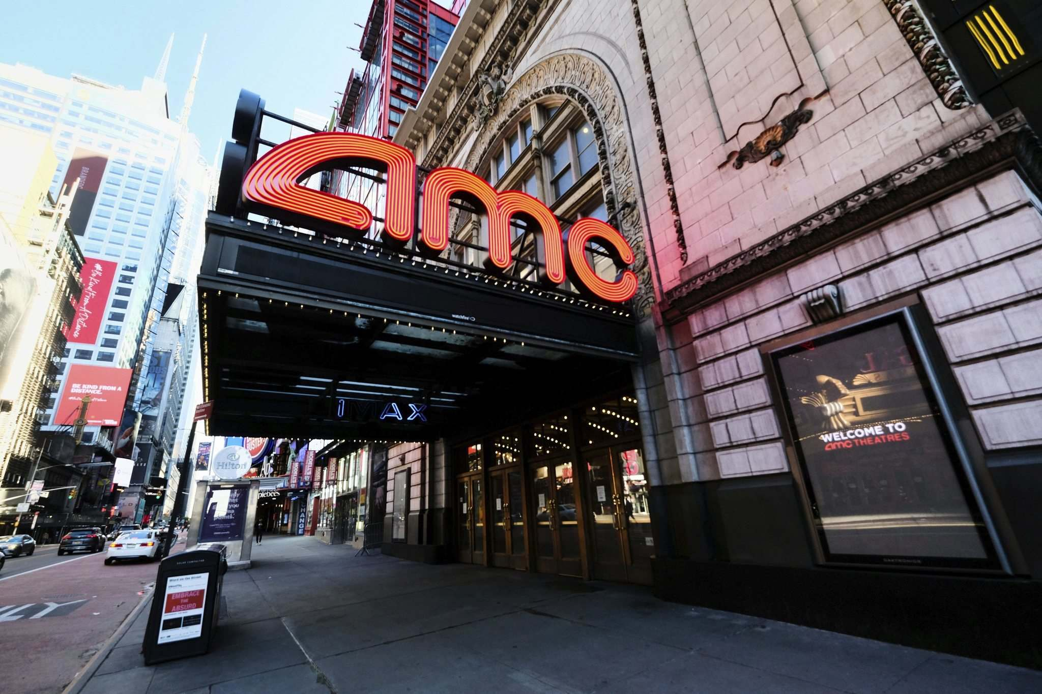 Evan Agostini/Invision/AP FileS</p><p>AMC Theatres could be bankrupt by year's end.</p>