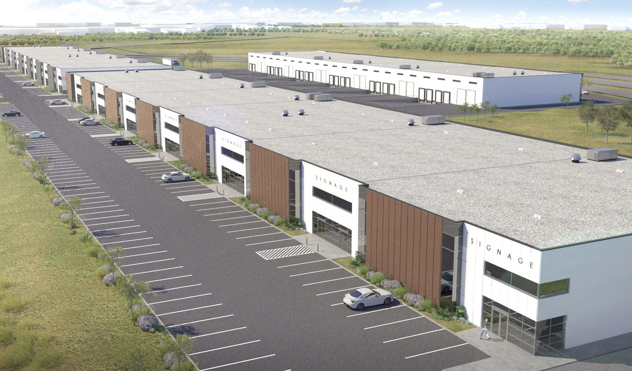 MMI Asset Management Ltd. plans to build two 80,000-square-foot and one 60,000-square-foot single-storey buildings with 28-foot clearance. (Supplied)</p>