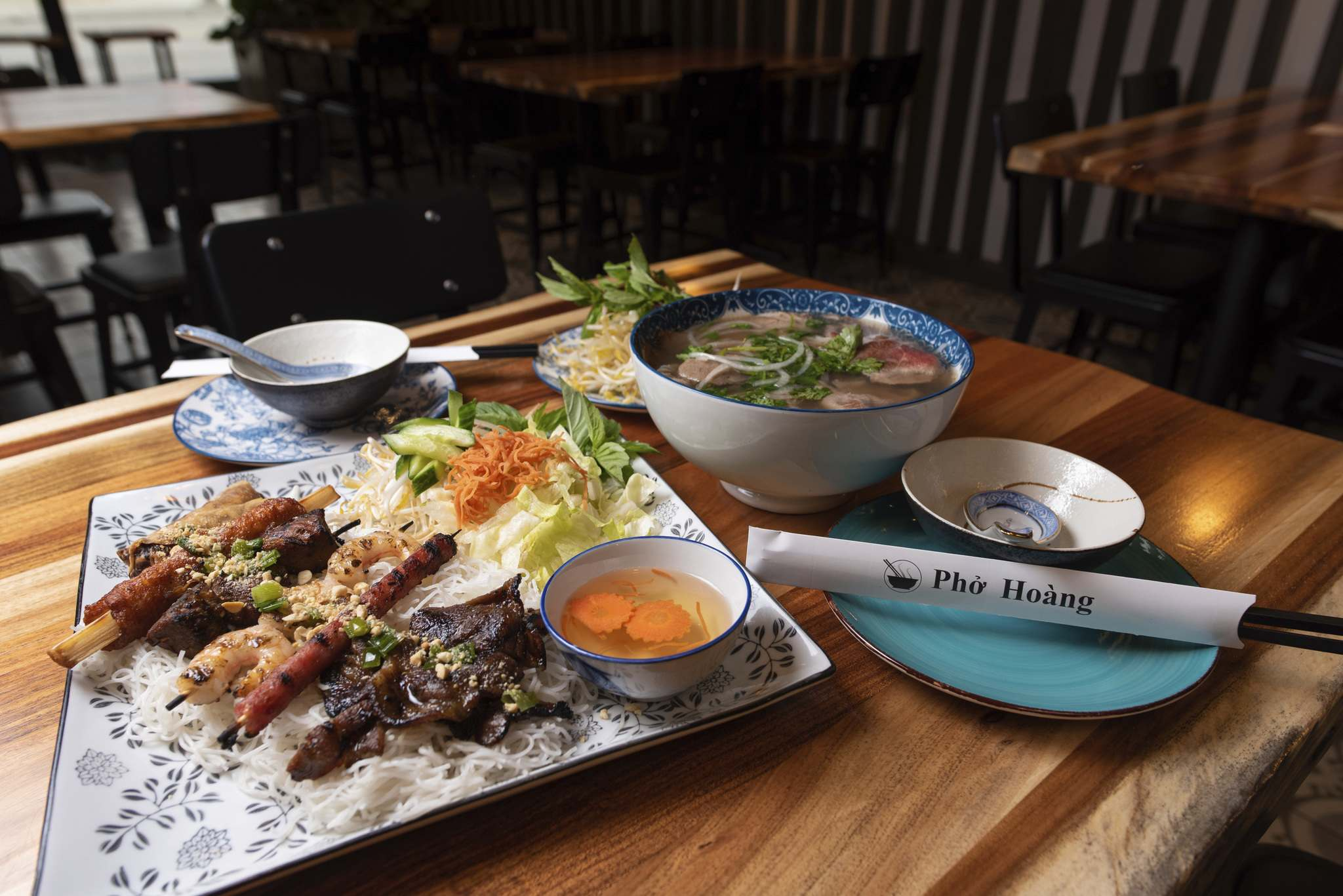 Pho Hoang delivers great food in a good-looking room at its latest outpost in Osborne Village.</p>