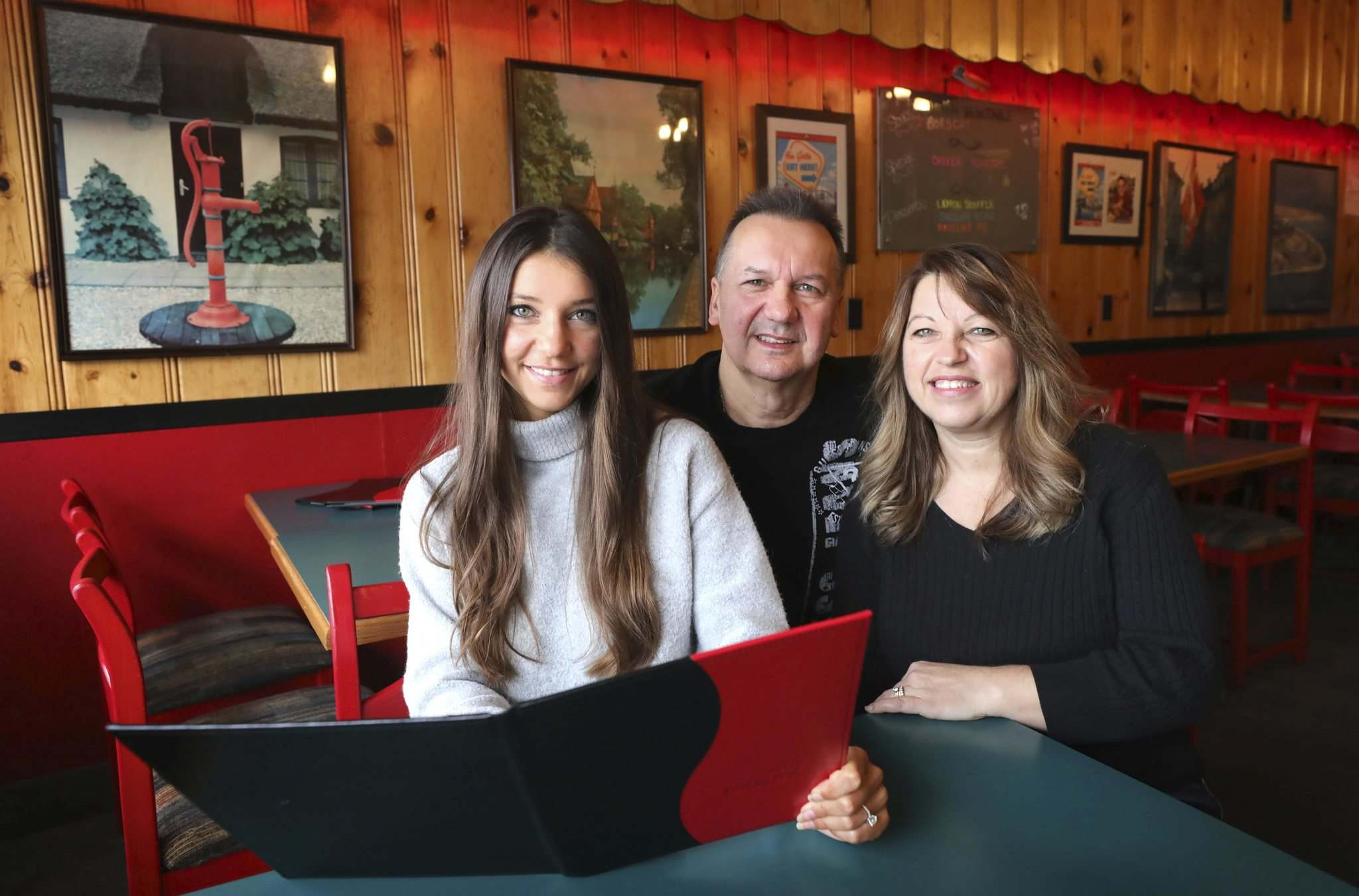 Paul and Pamela Vocadlo bought Bistro Dansk as newlyweds in 1988. Recently, daughter Carley, 25, has put aside her real estate career to help out in the popular eatery.</p>