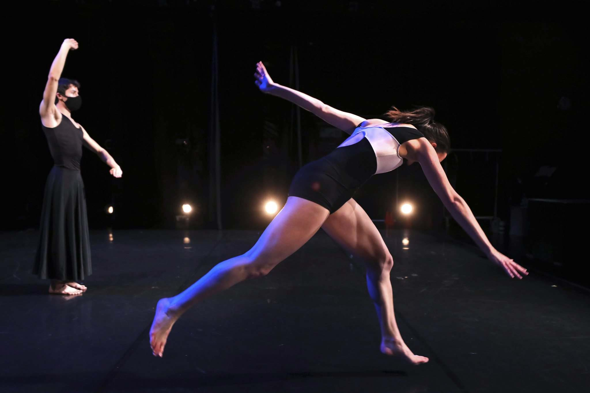 RUTH BONNEVILLE / WINNIPEG FREE PRESS</p><p>WCD presentations all keep the dancers two metres apart, as per pandemic restrictions.</p>