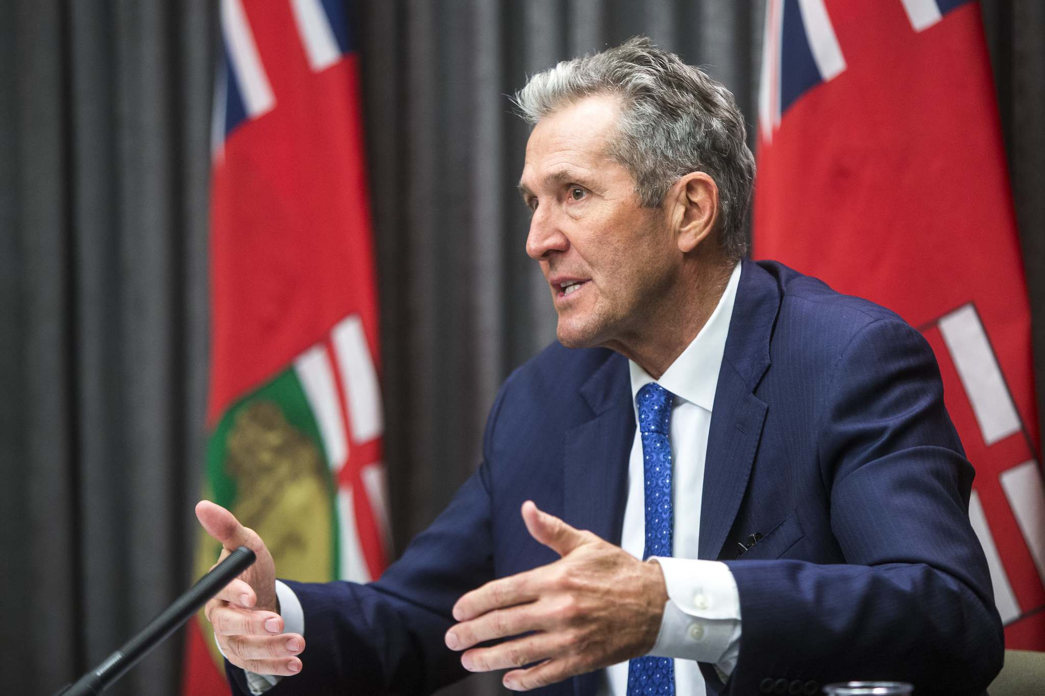 """MIKAELA MACKENZIE / FREE PRESS FILES</p><p>The letter, which was sent to Premier Brian Pallister, is signed by more than 200 physicians and academics who share a """"unanimous alarm regarding the COVID-19 crisis in Manitoba.""""</p>"""