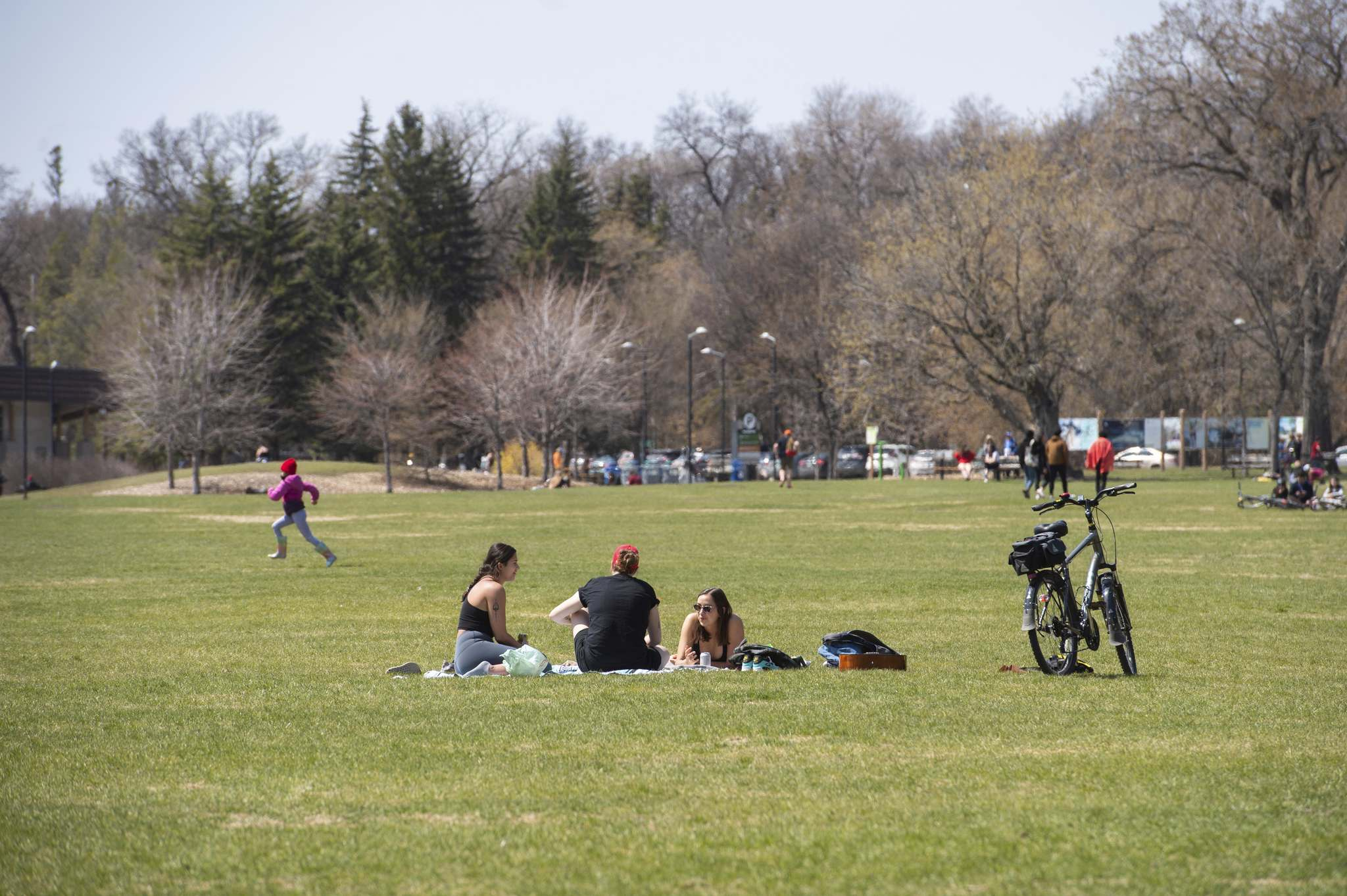 Over the past five years, between $6 million and $11 million was budgeted for parks and open spaces, along with $5 million a year for Assiniboine Park (above). (Mike Sudoma / Winnipeg Free Press files)</p>