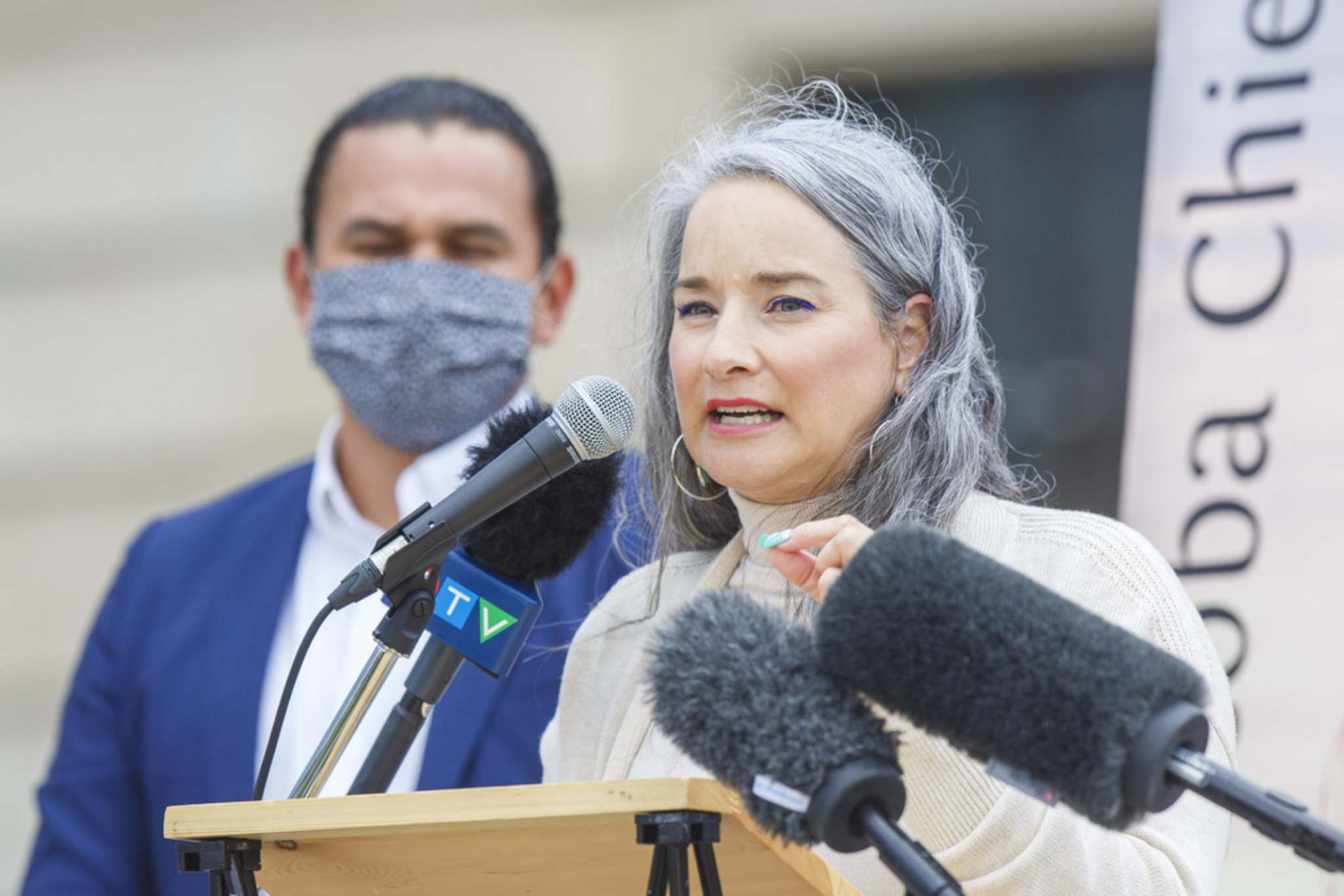 """MIKE DEAL / WINNIPEG FREE PRESS FILES</p><p>NDP justice critic Nahanni Fontaine: """"When we're looking at personal care homes, what we've seen is a failure to protect residents and staff.""""</p>"""