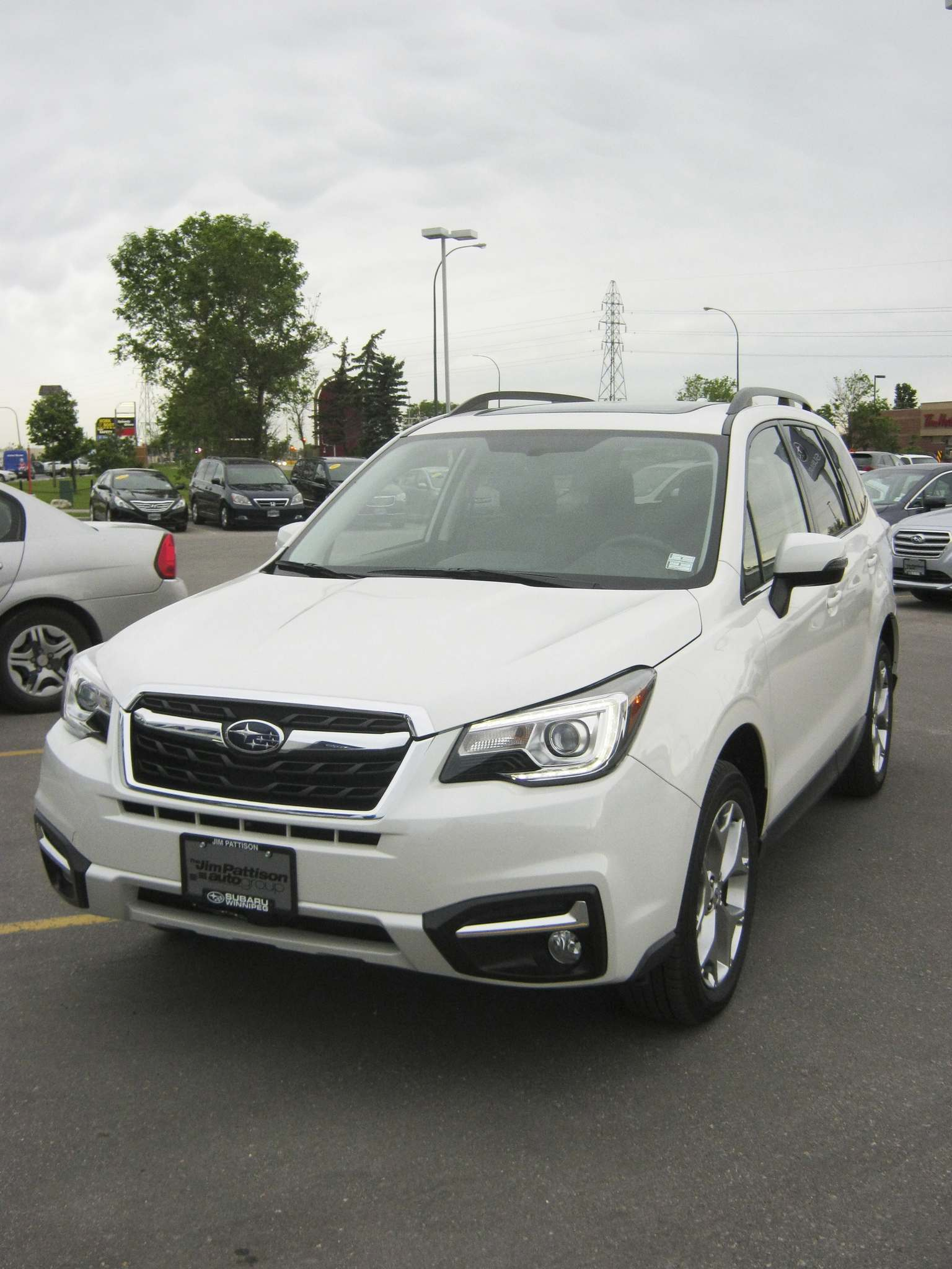 Myron Love / Winnipeg Free PressChanges for the 2017 Subaru Forester include available lane-keeping assist, blind-spot detection and rear cross-traffic alert.