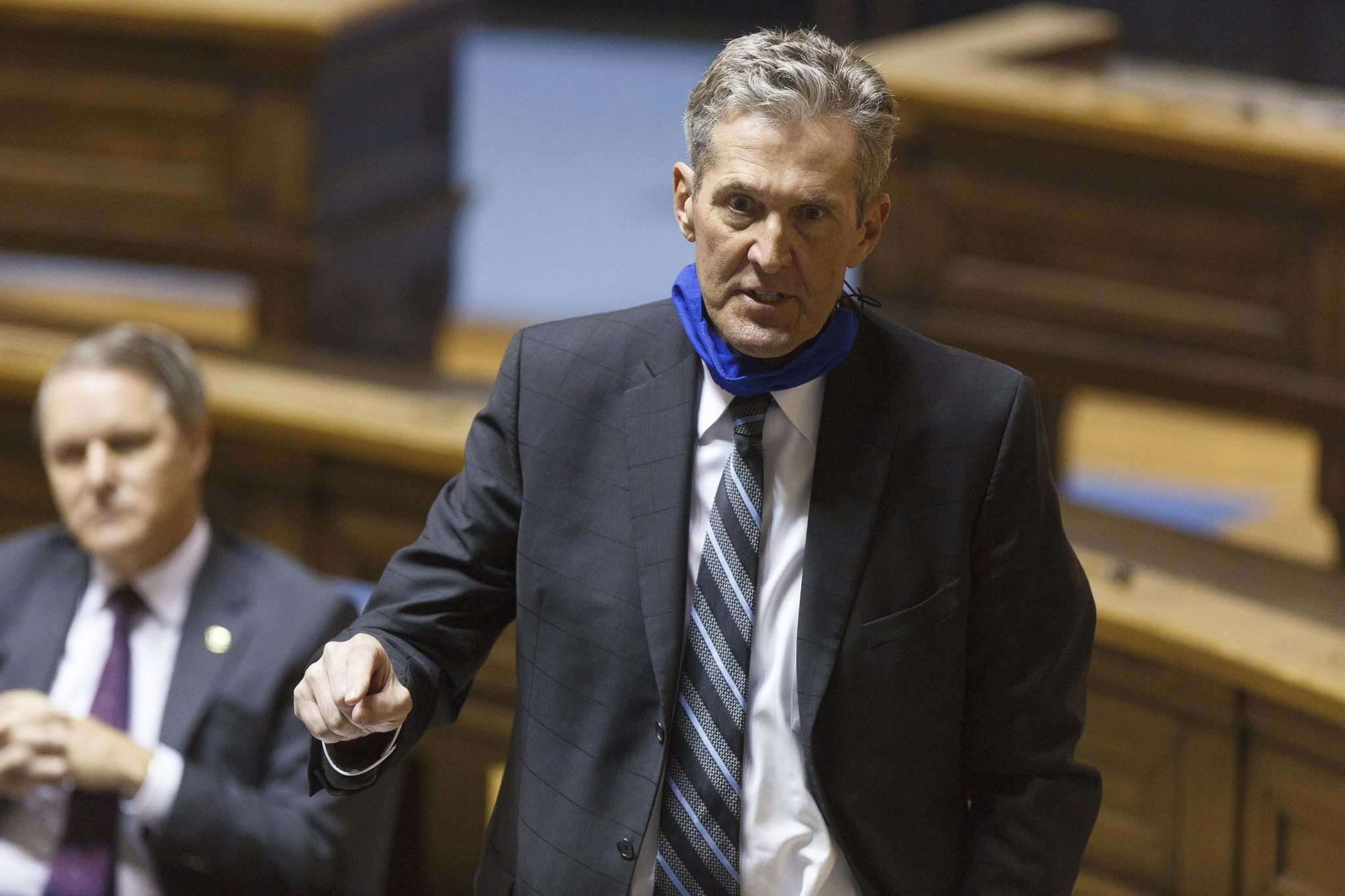 MIKE DEAL / WINNIPEG FREE PRESS</p><p>Premier Brian Pallister didn't indicate how much additional time students may be away from school, although he acknowledged that parents would have to be given advanced warning.</p></p>
