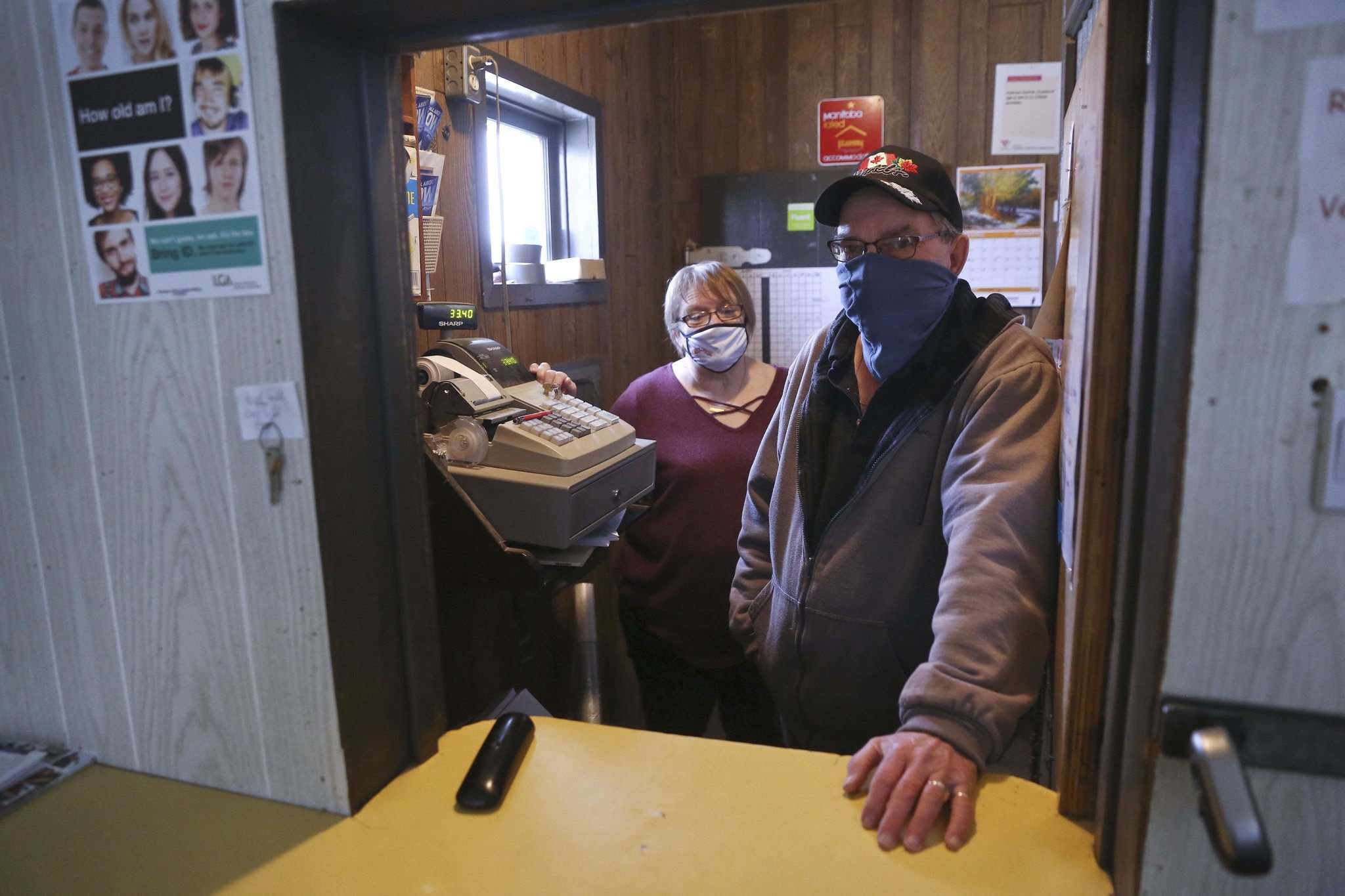 Bob and Bev Fuglsang were recently given a ticket for violating the province's pandemic restrictions. The couple now have to figure out the appeal process for what they are saying is a false accusation.