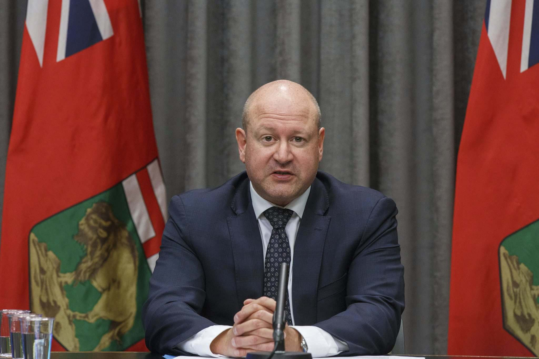 Chief provincial public health officer Dr. Brent Roussin says people should plan to stay home for Christmas and Hanukkah. (Mike Deal / Winnipeg Free Press files)