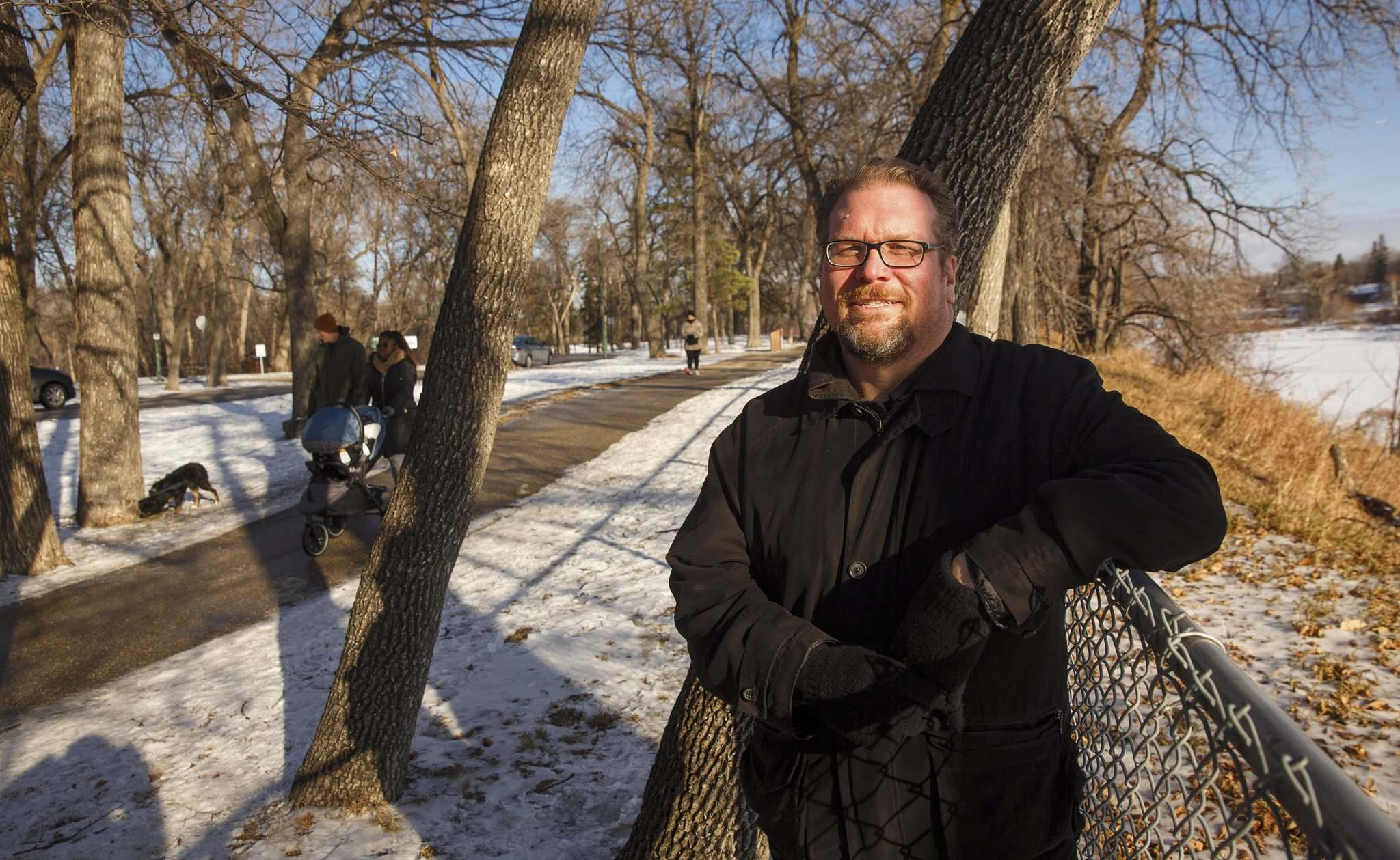 MIKE DEAL / WINNIPEG FREE PRESS</p><p>Free Press sports columnist Mike McIntyre has shed many pounds by watching what he eats and walking in Kildonan Park. The next challenge is shedding strokes from his golf game.</p>