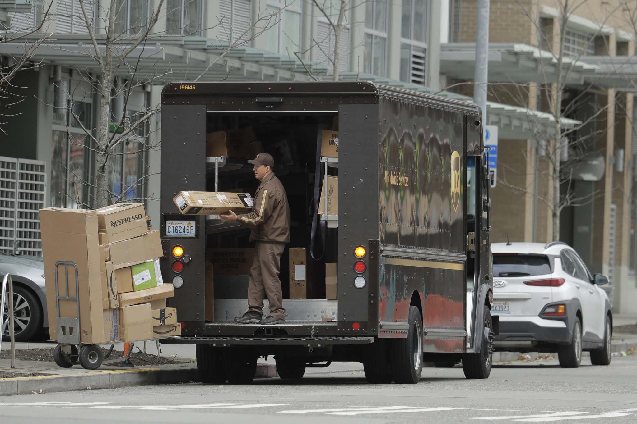 Ted S. Warren / Associated Press Files</p><p>The era of overnight shipping and multinational e-commerce giants such as Amazon has completely changed the way consumers shop. </p>