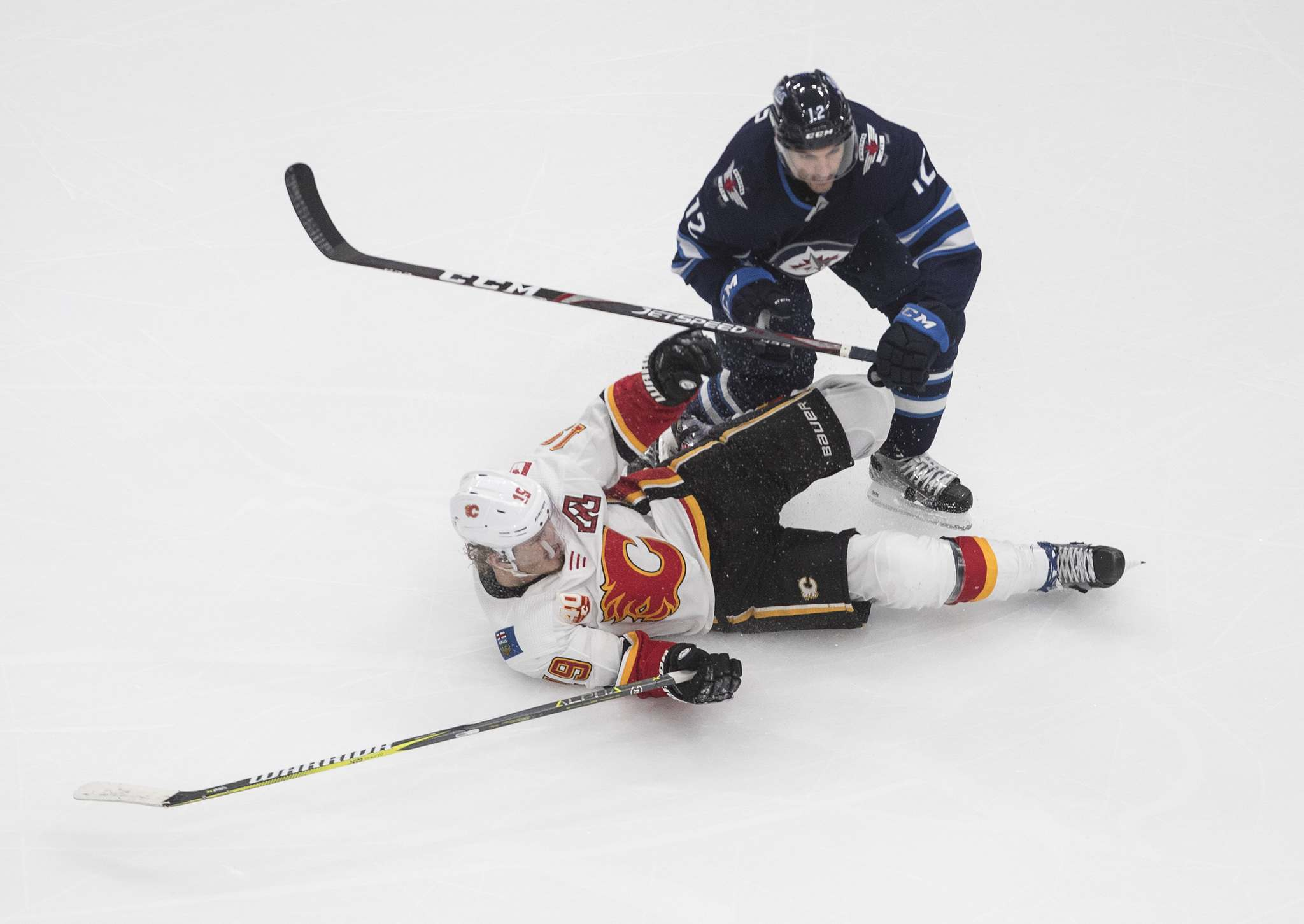 Dylan DeMelo signed a four-year deal with the Jets. (Jason Franson / The Canadian Press files)