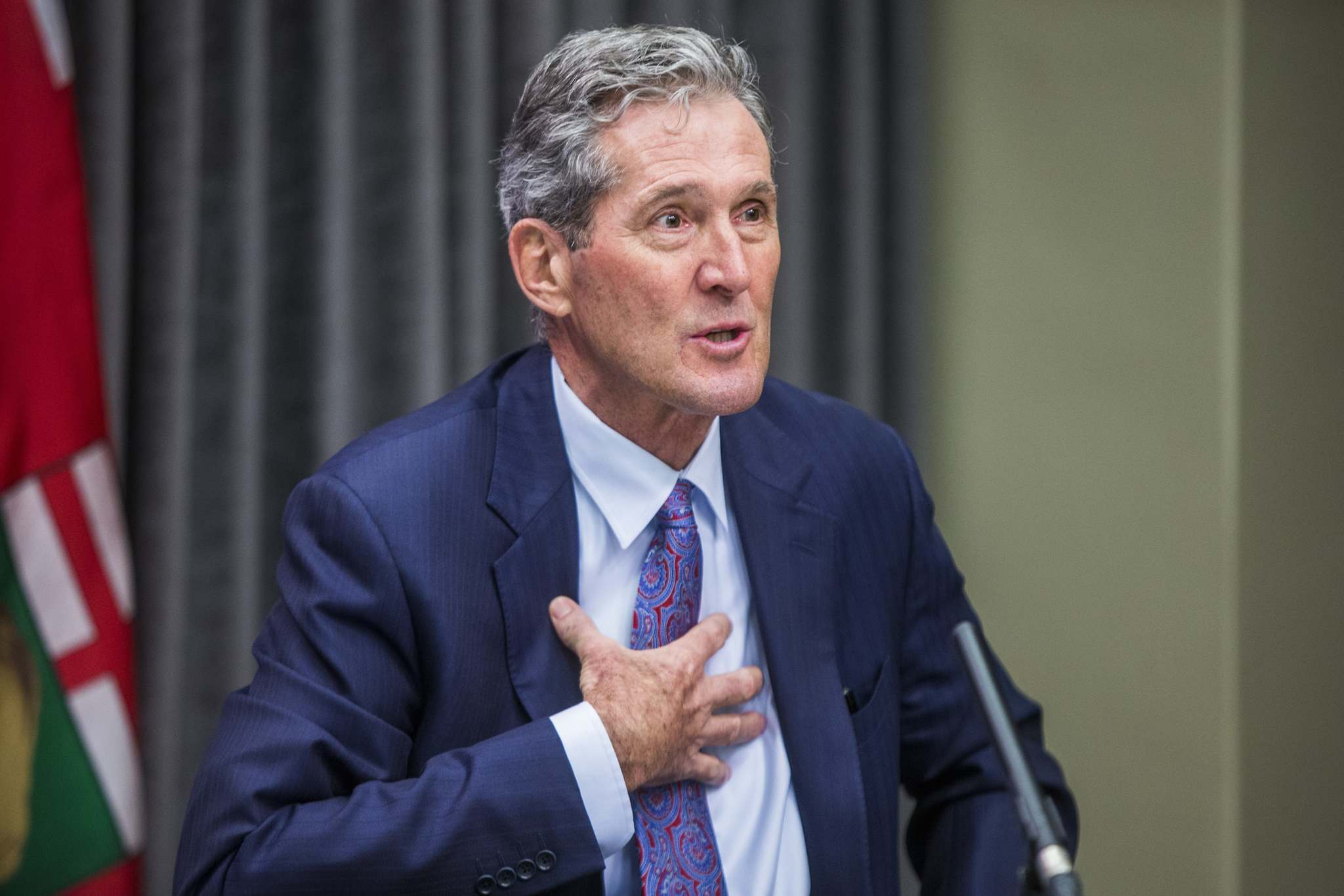Premier Brian Pallister's office suggested there isn't a need for such tri-level confabs.