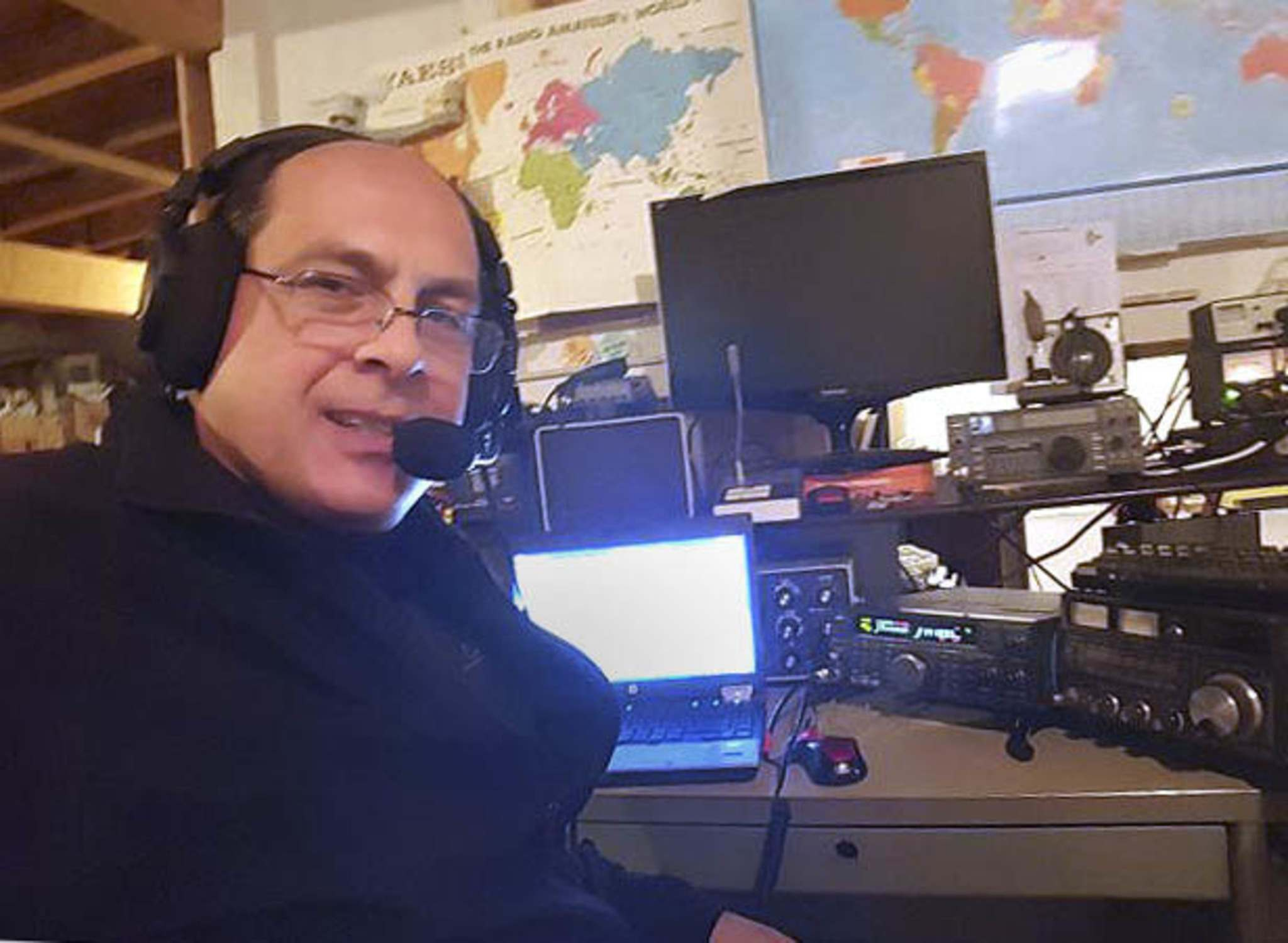 Dan Keizer has been a ham radio operator for nearly three decades. From his home in south Winnipeg, he can communicate around the world.