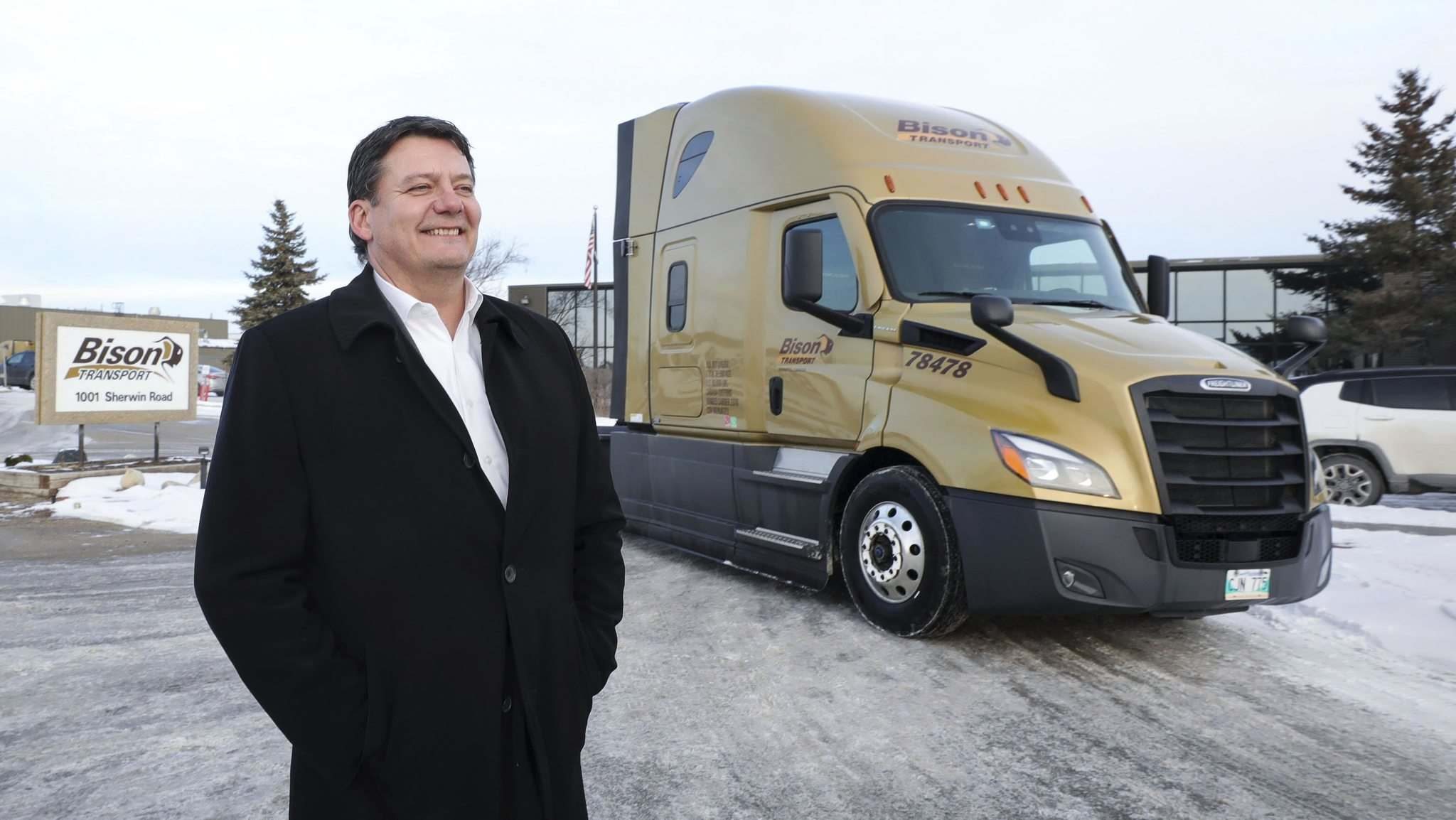 Rob Penner, CEO of Bison at Bison Transport, is staying on to run the company after James Richardson & Sons acquired the firm which is the sixth largest trucking company in the country.