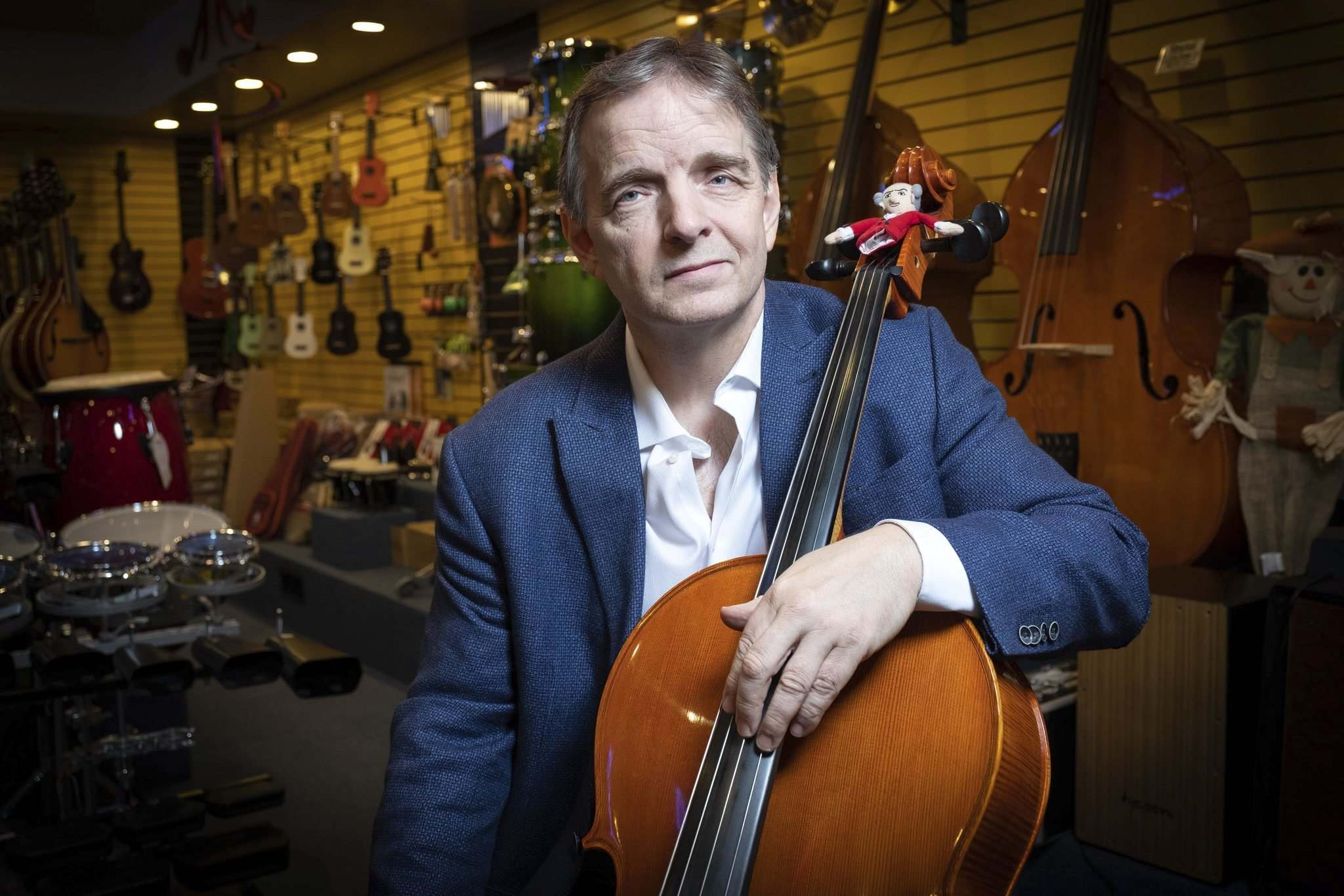 Spirited Music owner Robert Geurts was given two $5,000 fines despite being told he could be open. (Daniel Crump / Winnipeg Free Press files)