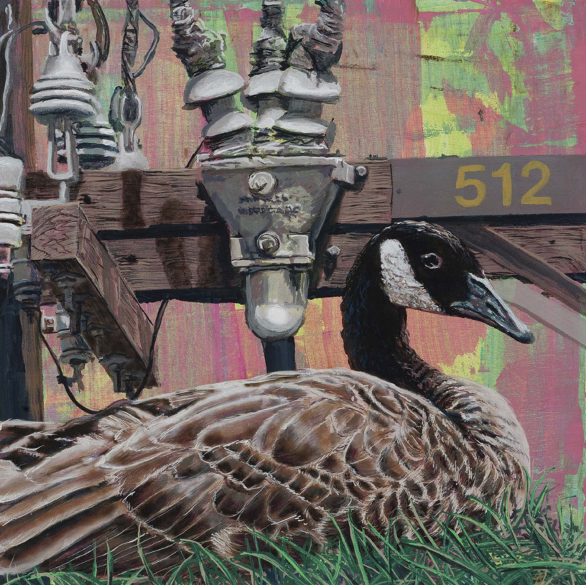 Painter Brian Longfield's Home Address, which explores how Canada geese have adapted to urban living.</p>