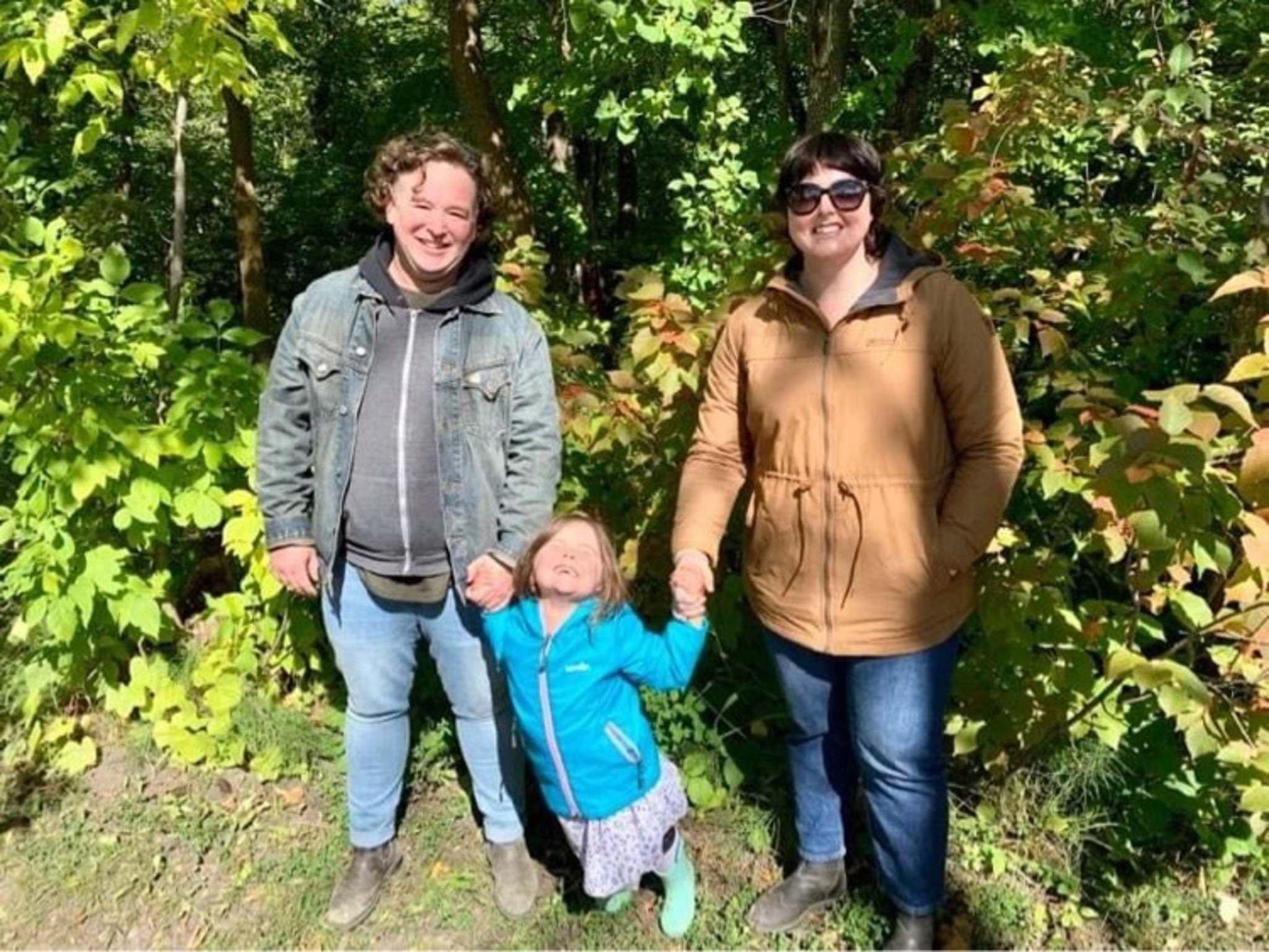 SUPPLIED</p><p>Winnipeg parents Rune Breckon, left, and Corinne Mason sent their daughter, Olive Breckon to pre-school this year so she could build her social-emotional intelligence with peers and teachers in class. </p></p><p>