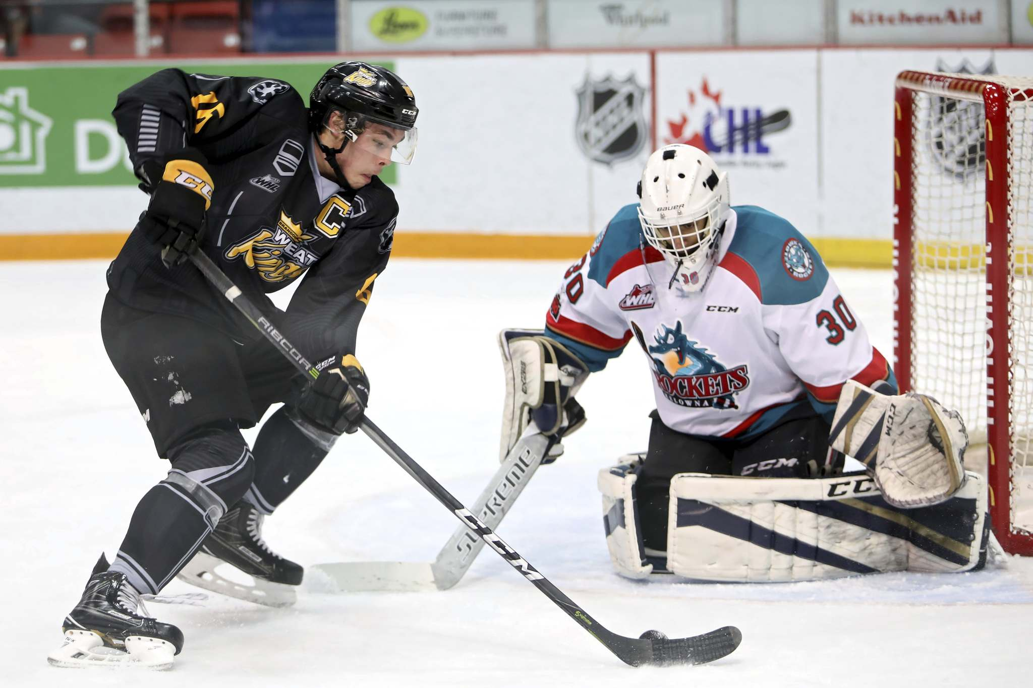 The WHL, which was forced to halt the 2019-20 season with a handful of regular-season games remaining, has missed several start dates. (Tim Smith/The Brandon Sun)</p>