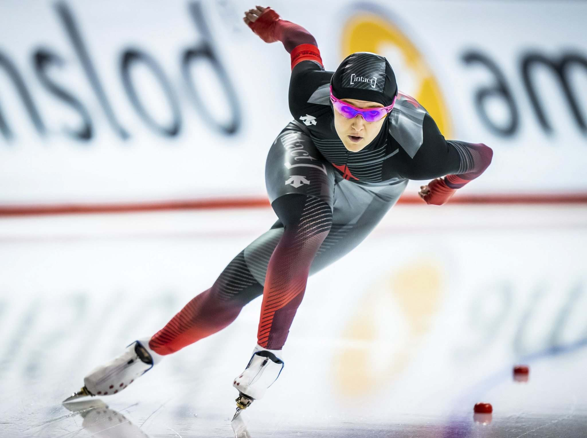 Dave Holland / Speed Skating Canada</p><p>Winnipeg's Heather McLean has her eyes on the biggest prize — a podium finish at the Beijing Olympics.</p></p>