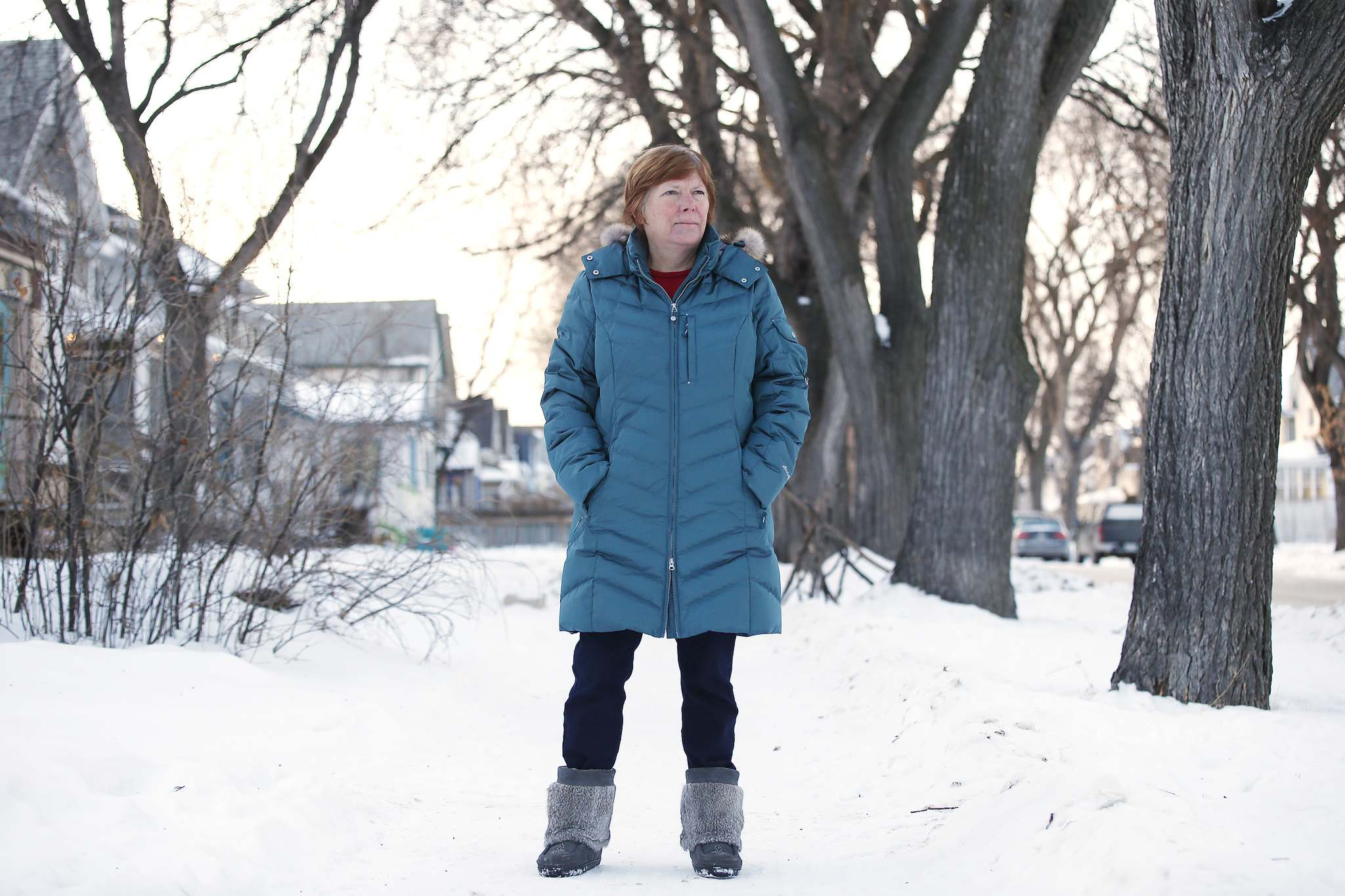 """JOHN WOODS / WINNIPEG FREE PRESS<p> """"We couldn't really get together and celebrate Christmas with them, which was kind of a bummer, but I understand why,"""" Hanuschuk said."""