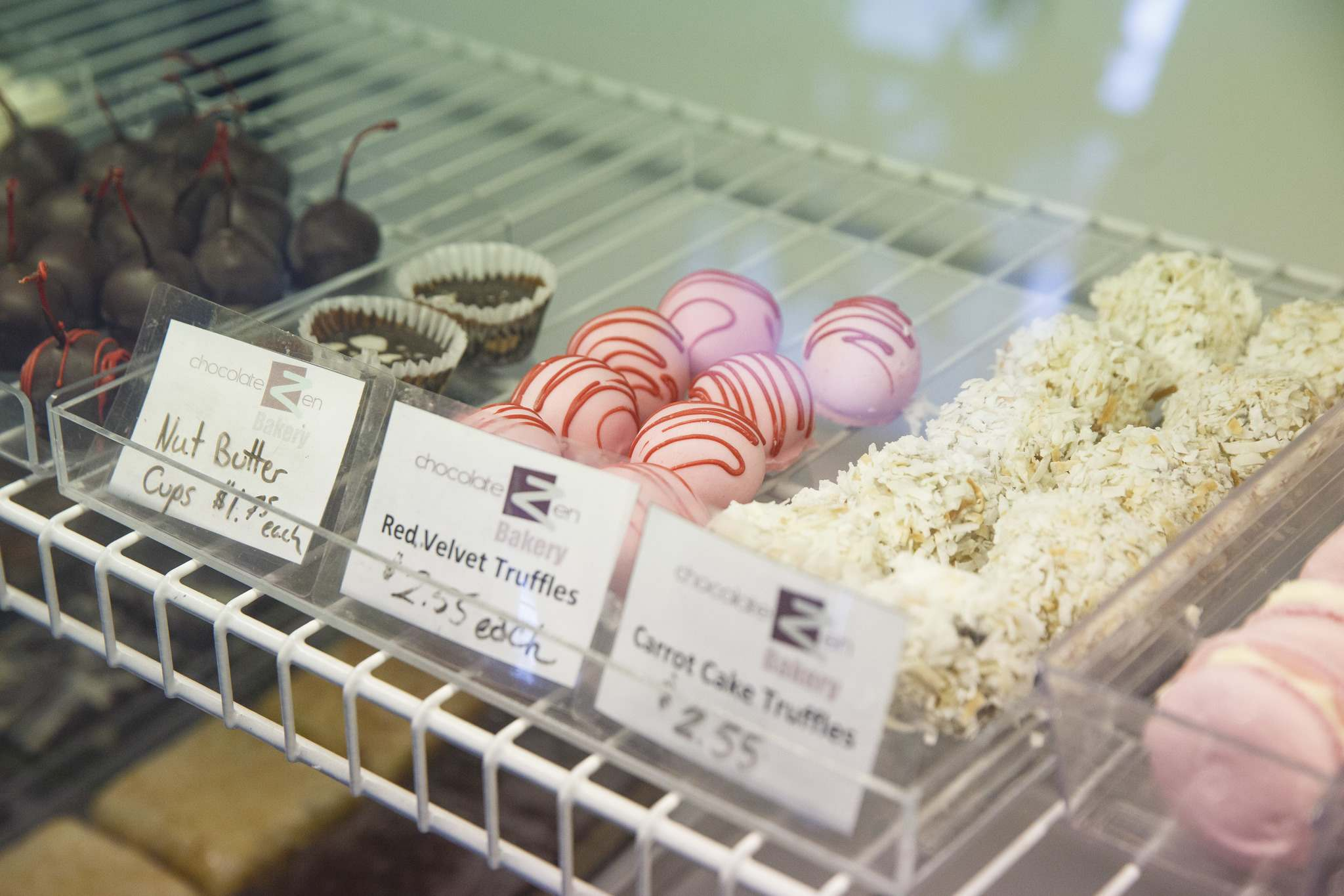 Some of the items in the display case. (Mike Deal / Winnipeg Free Press)</p>