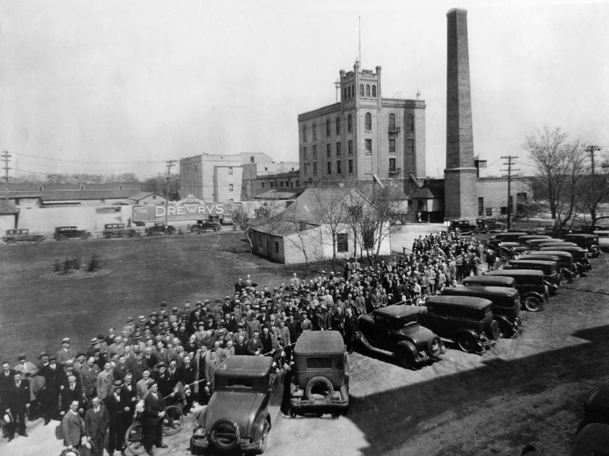 Archives of Manitoba</p><p>The Drewry Brewery at Main and Redwood Avenue was one of Winnipeg's most successful breweries in the 19th century. The company was eventually part of Carling Breweries before being acquired by Molson Breweries; the building stood until 1999.</p>