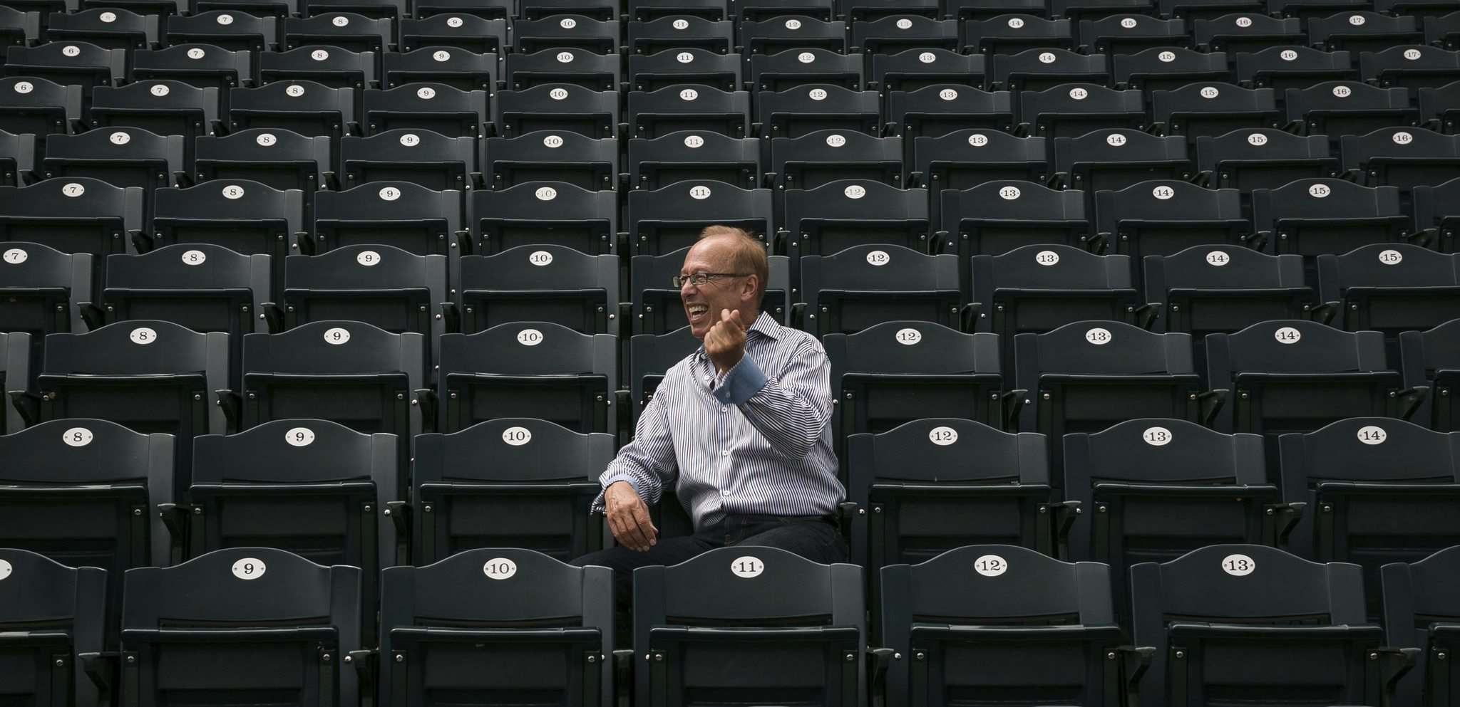 Goldeyes owner Sam Katz says the team will play in another city if it has to. (Melissa Tait / Winnipeg Free Press files)