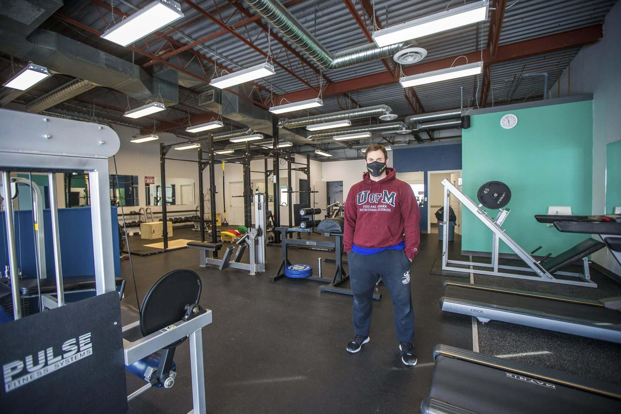 Dino Camiré is operator of One Family Fitness Centre.
