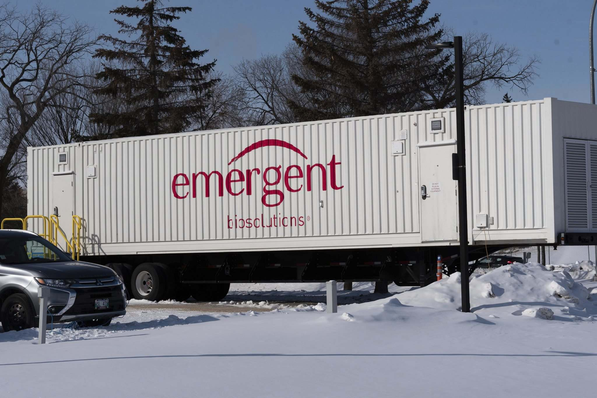 Providence's vaccine would be produced at a Winnipeg facility operated by Emergent BioSolutions.