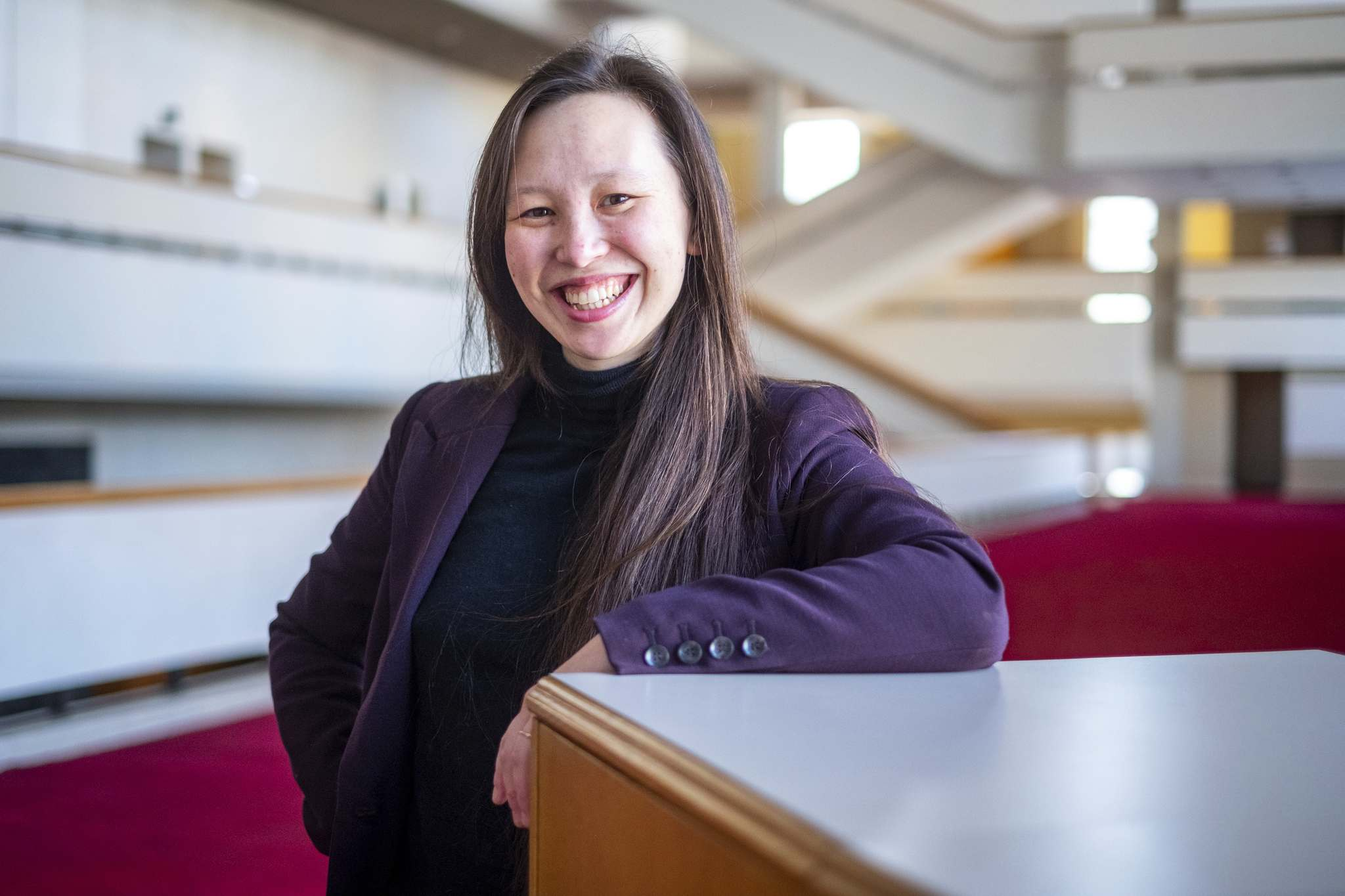 Naomi Woo is an assistant conductor with the Winnipeg Symphony Orchestra. She says young women with aspirations for careers in music should follow their passion and not be afraid.</p></p>
