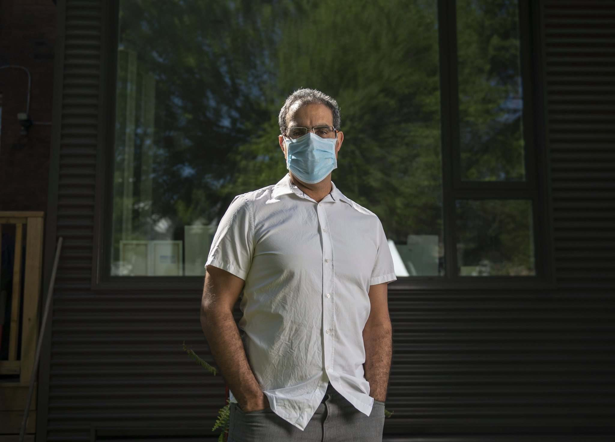 Providence Therapeutics is too far behind its vaccine development to ever catch up with current approved vaccines, says Amir Attaran, a professor in the faculties of law and the School of Epidemiology and Public Health at the University of Ottawa. (Justin Tang / Winnipeg Free Press)